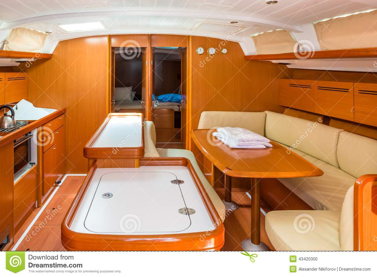 sailing boat interior stock photo image of ship price