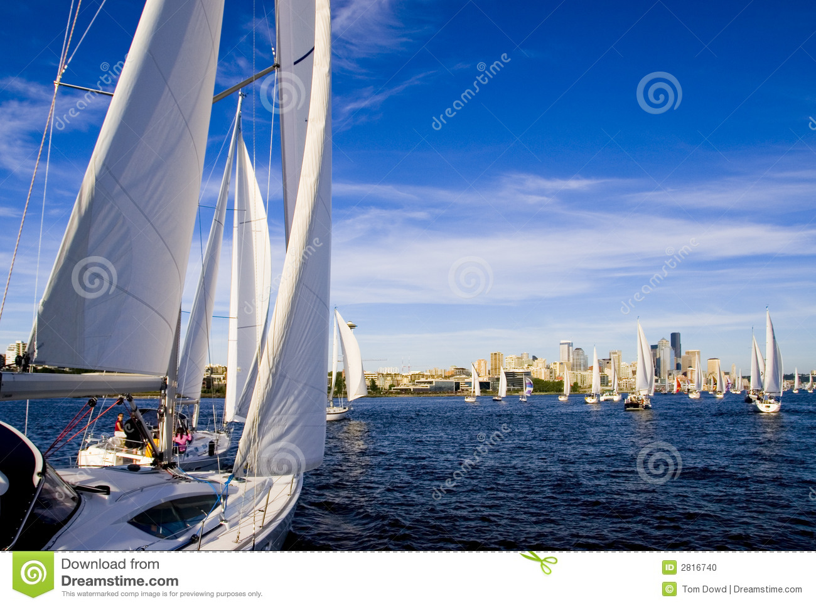 Sailing elliott залива