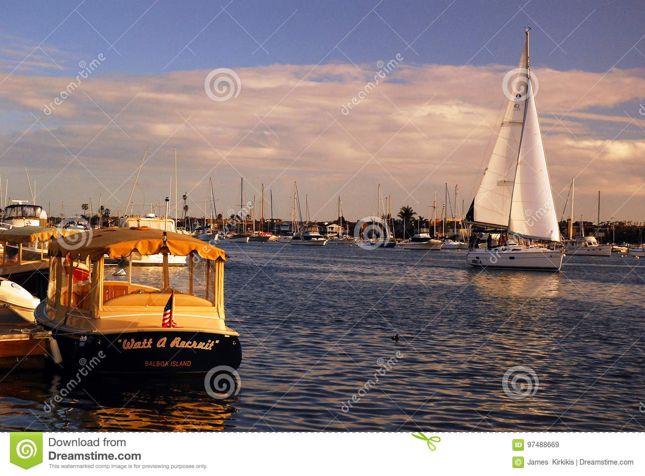 Sailing on a perfect day