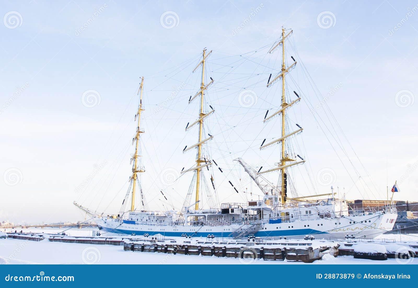 sailing ship in winter  st petersburg royalty free stock snow vector freepik snow vector clip art