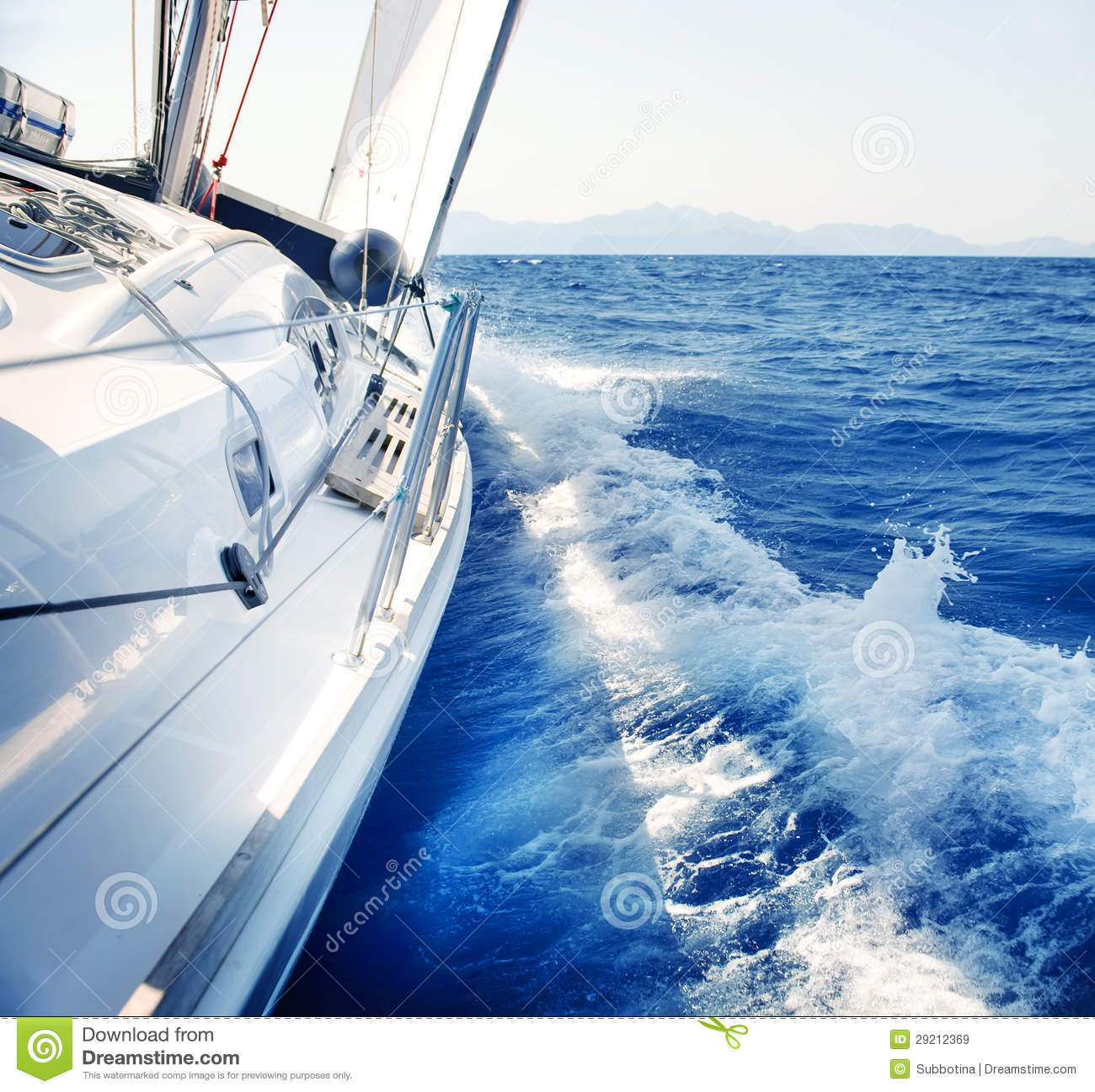 Sailing. Yachting. Luxury Lifestyle Royalty Free Stock Images - Image ...