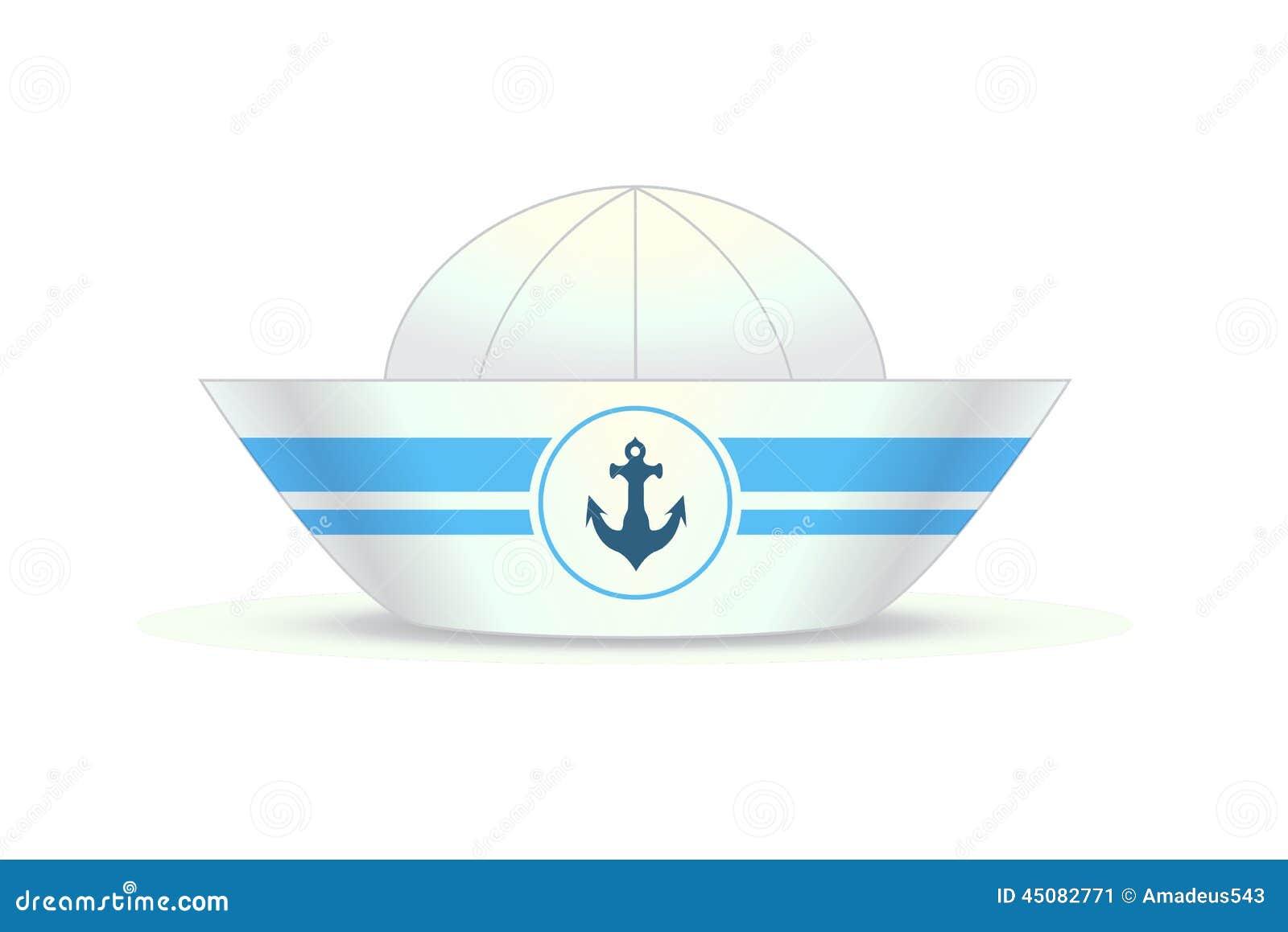 Navy Hat Clipart Sailor hat