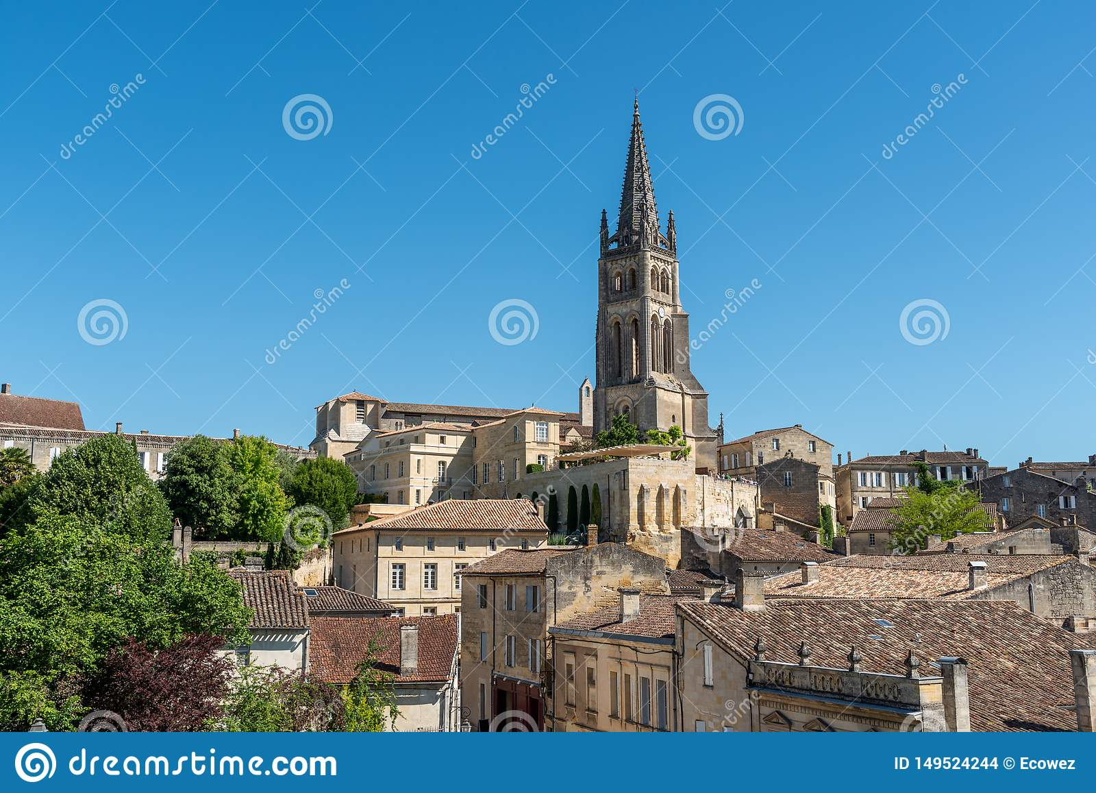 Saint Emilion, In Gironde, France: The Medieval Village ...