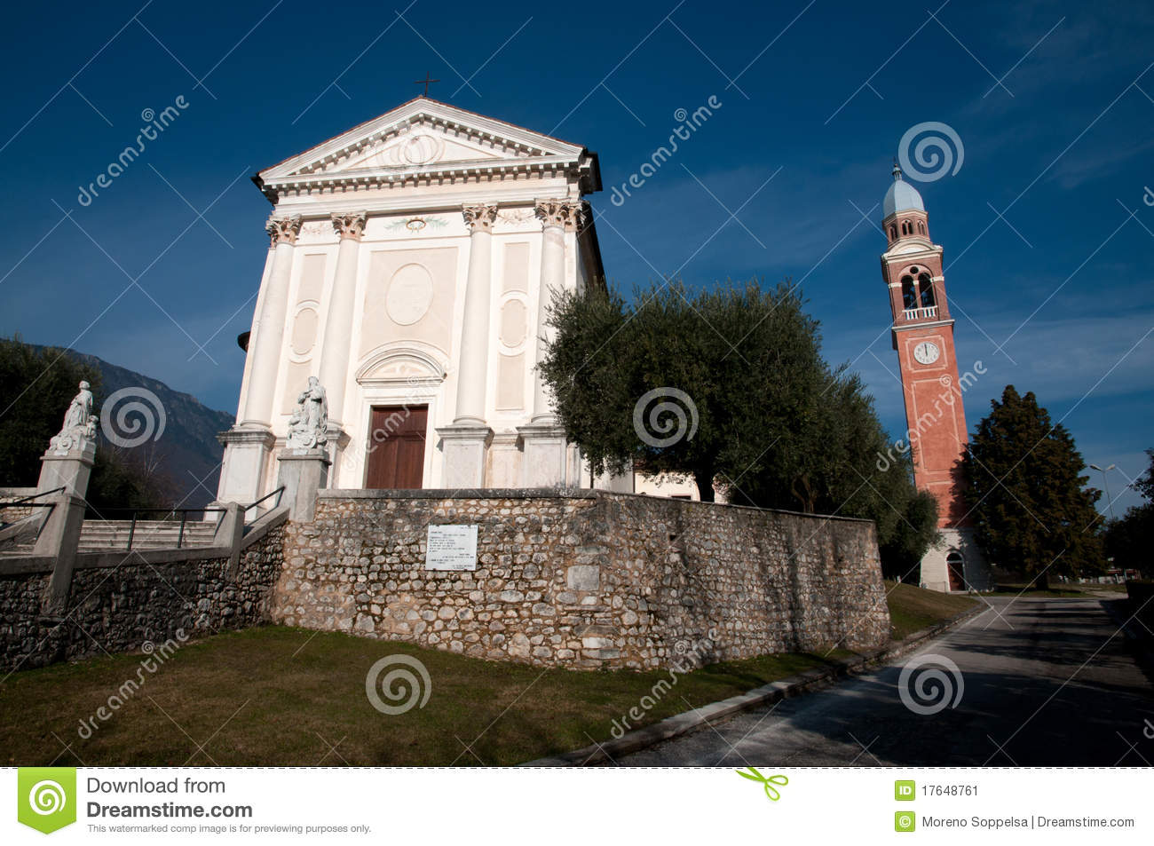 Saint eulaia church borso del grappa stock image image for Borso del grappa piscine
