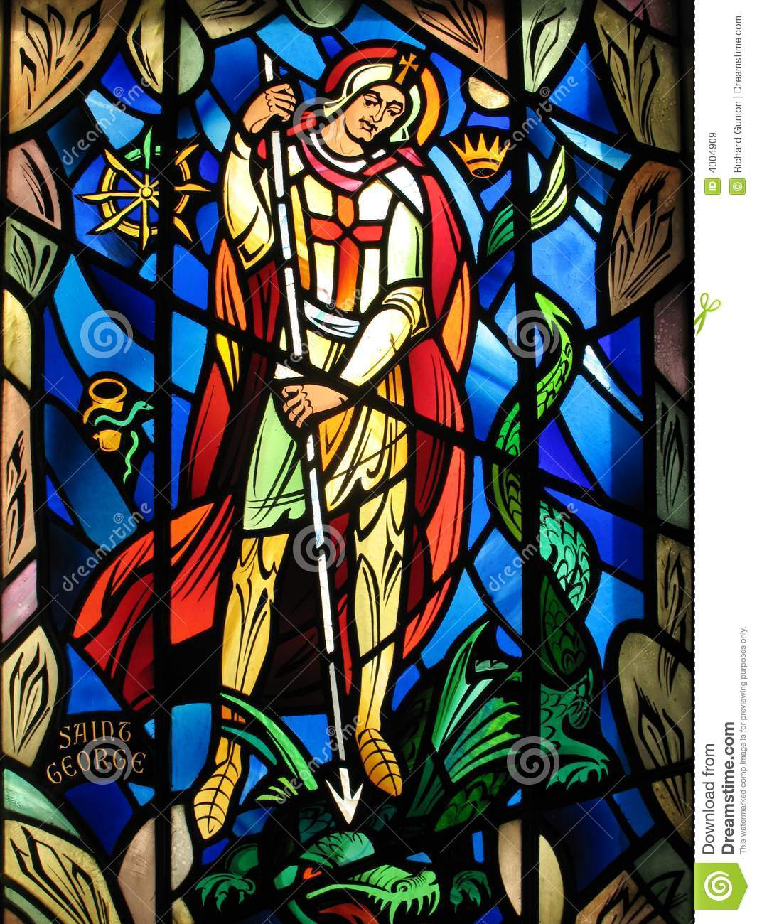 Saint George stock image. Image of glass, washington ...