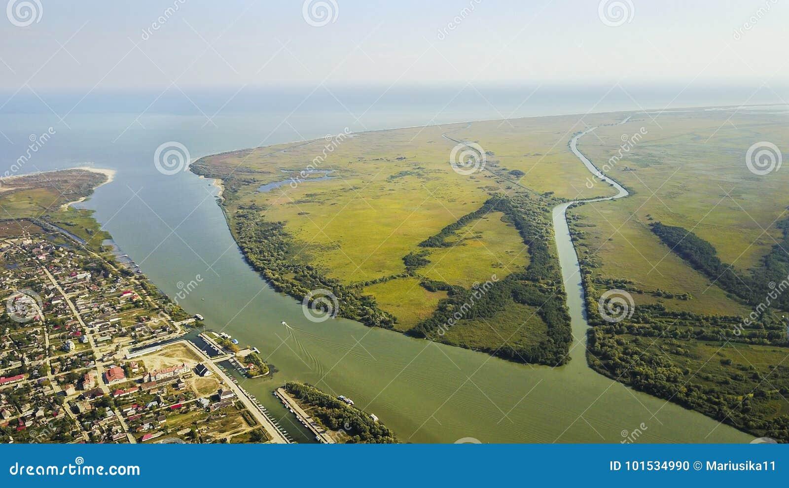 Saint George village, Danube Delta , Romania