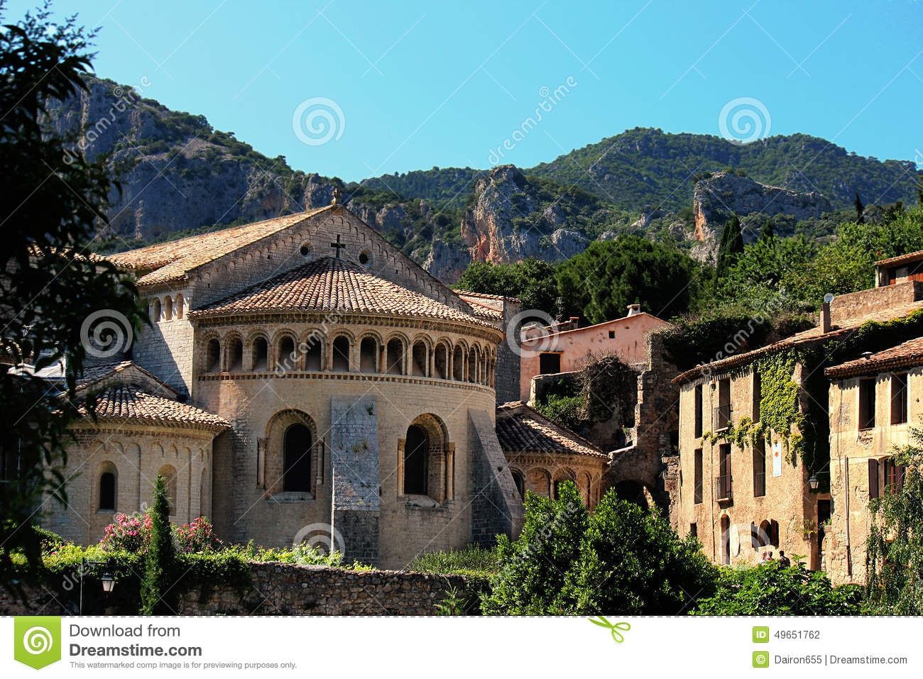 Saint Guilhem le desert church