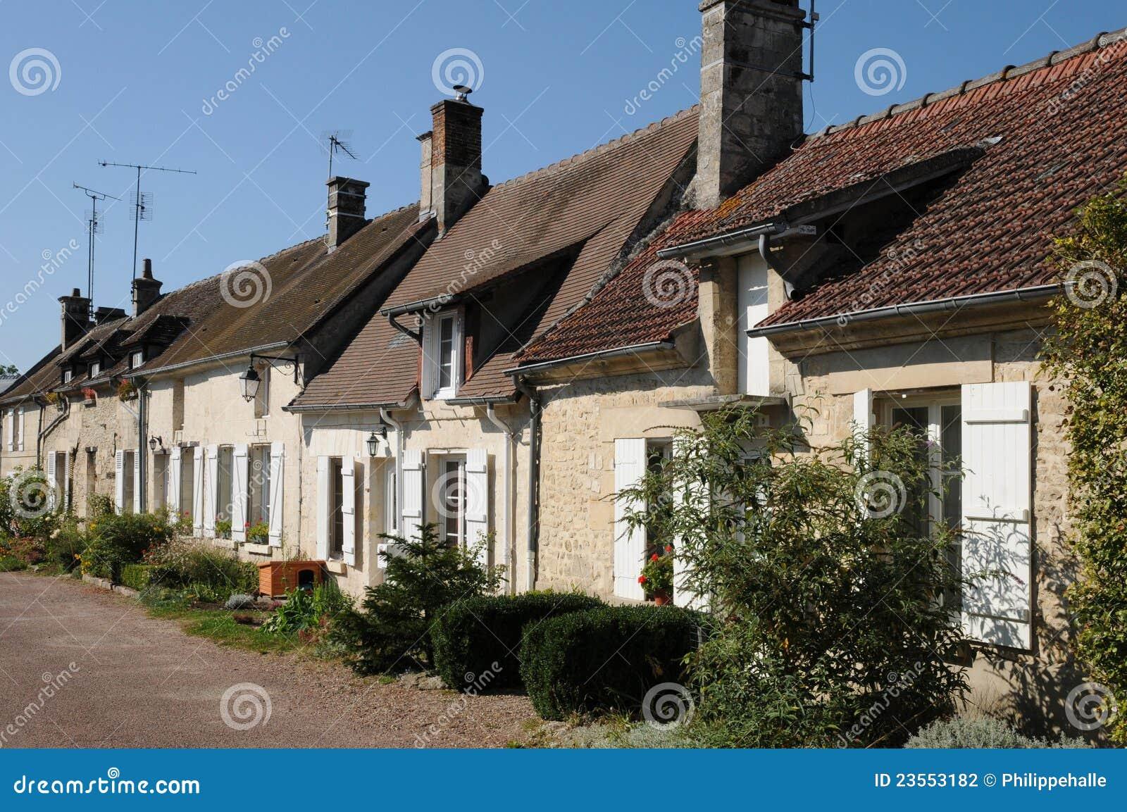 Saint Jean Aux Bois In Picardie Stock Photo Image 23553182