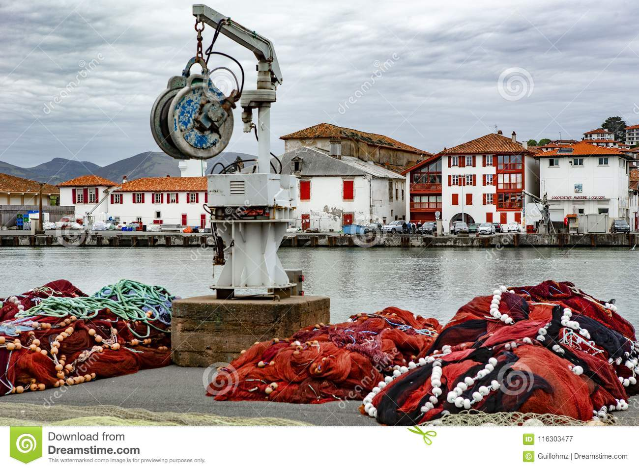Saint Jean de Luz France editorial photography. Image of