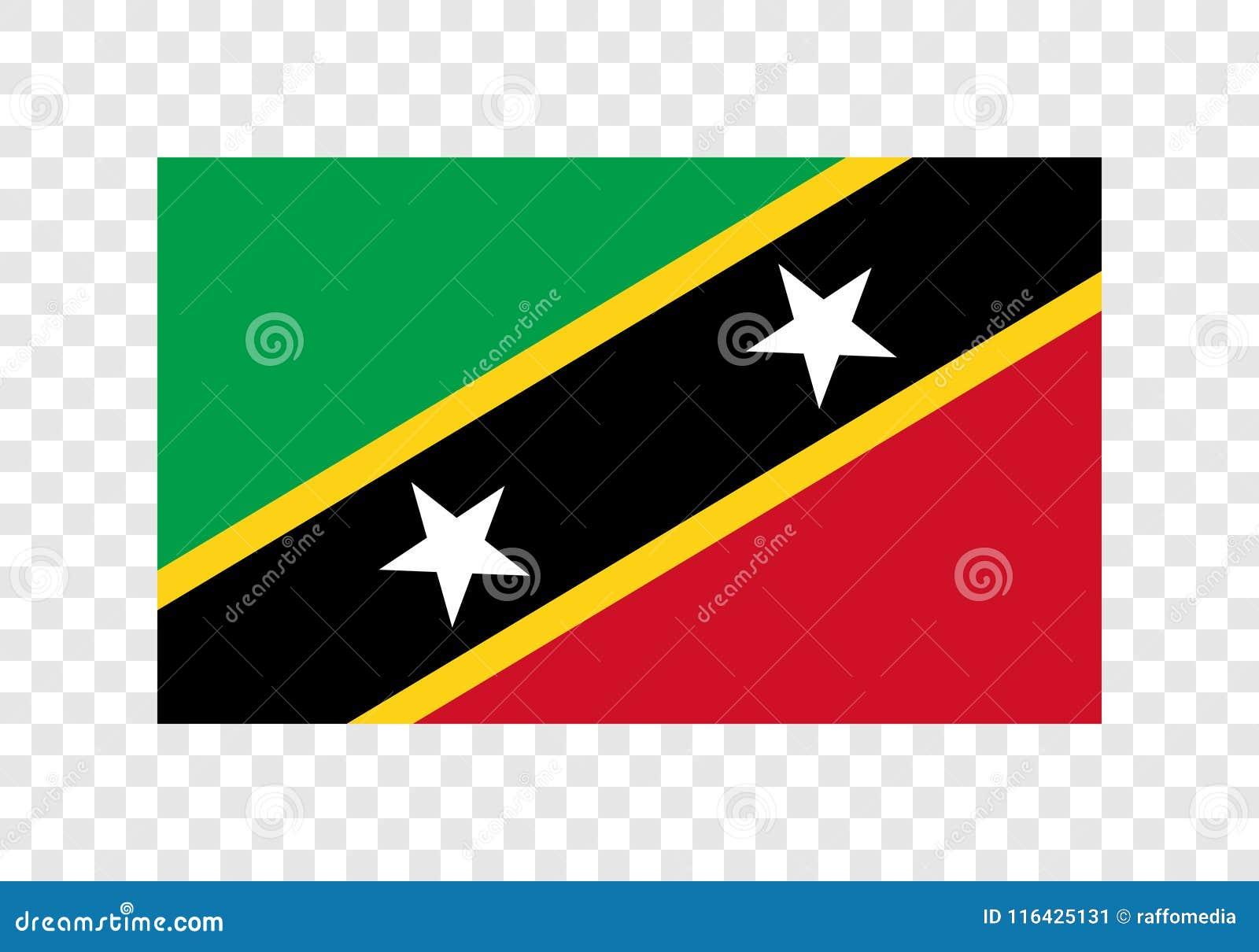 Saint Kitts et Niévès - drapeau national
