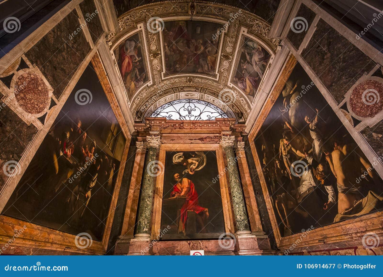 Saint Louis des Francais kościół, Rzym, Włochy