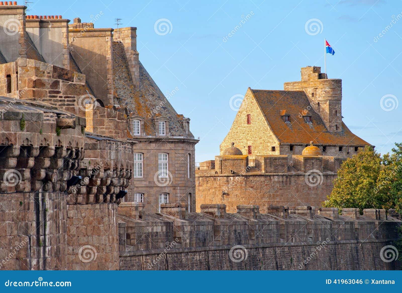 Saint Malo, la Bretagne, France