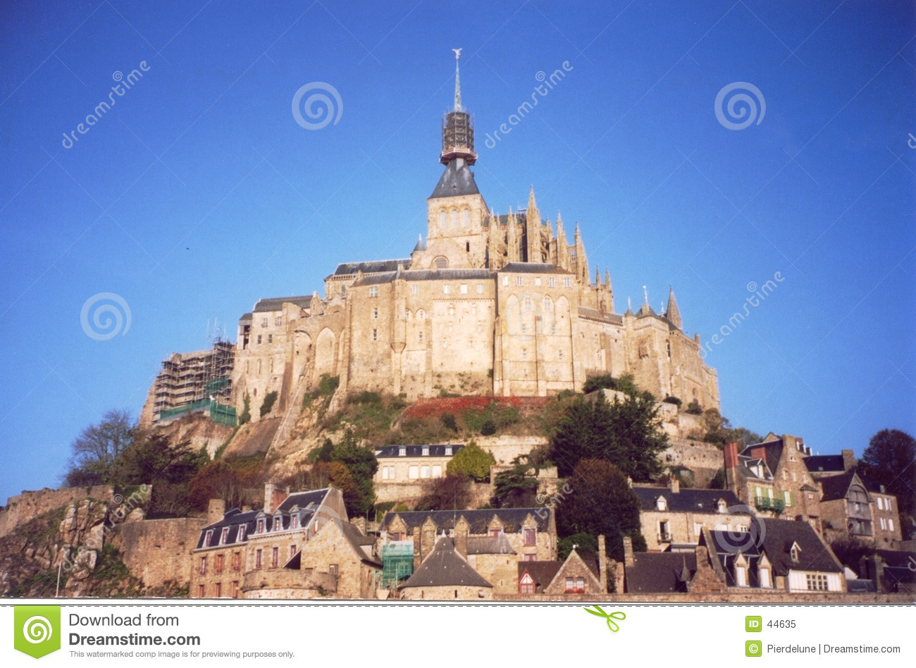 Saint Michel de Mont em Normandy, France