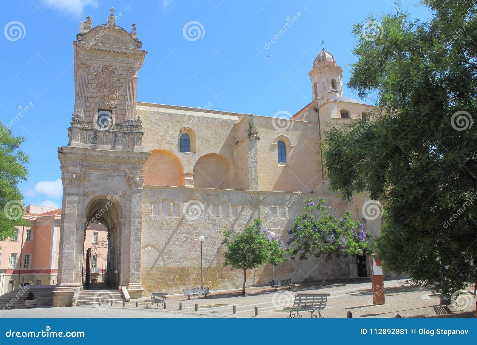Saint Nicholas Cathedral Sassari Sardinia Italy