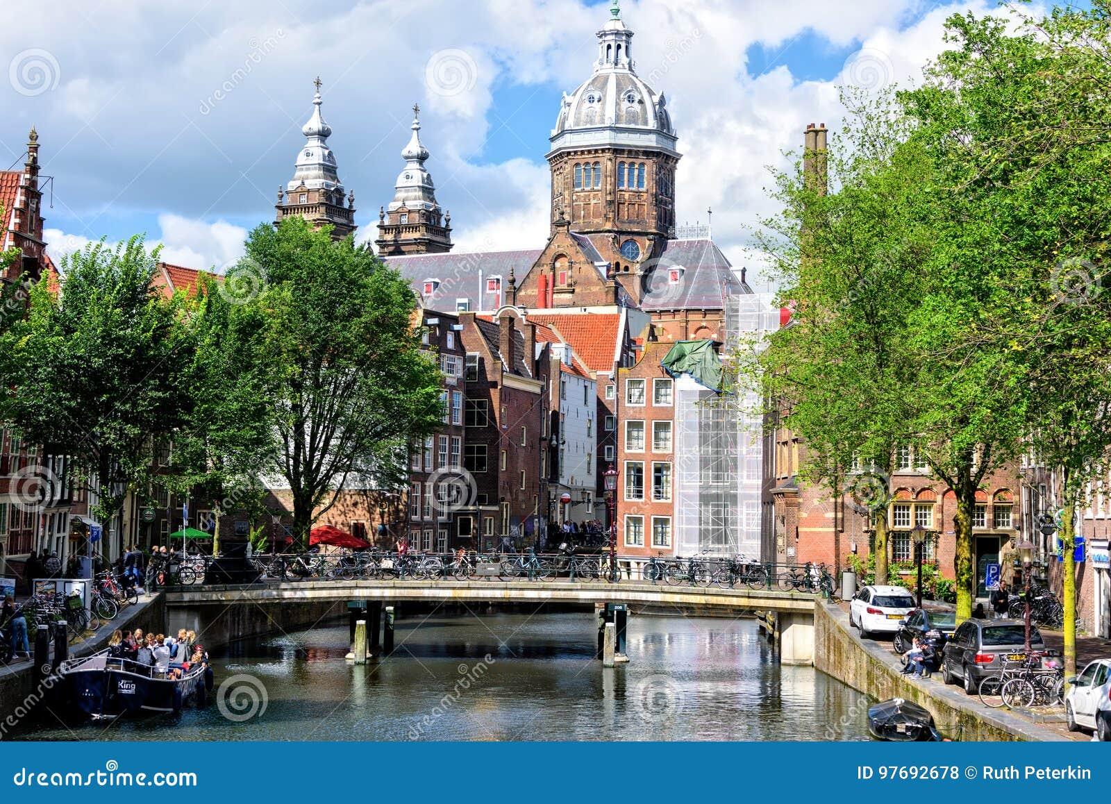 Saint Nicholas Church in Amsterdam