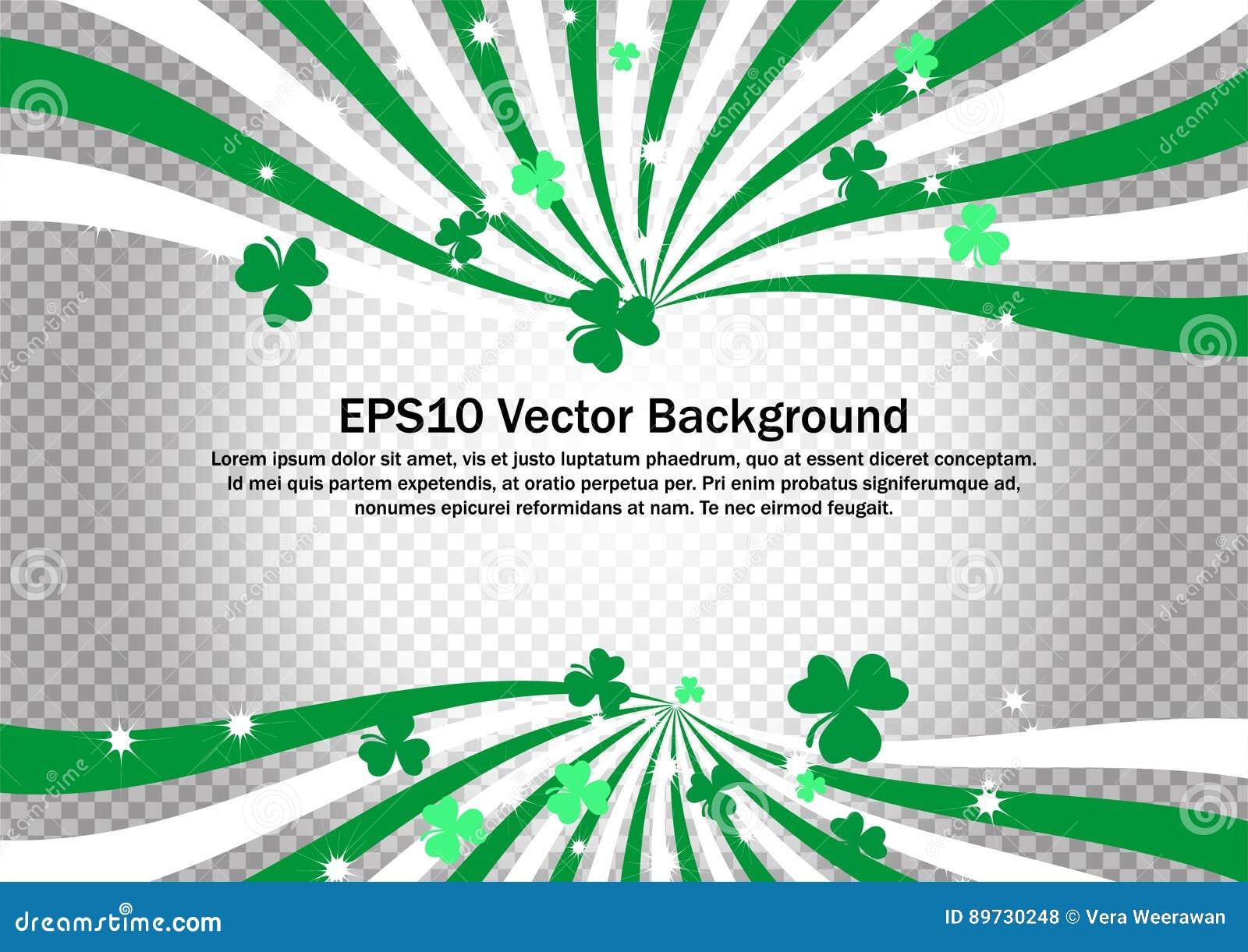 Saint Particks Day Vector clip art for backdrop, banner, wallpaper and border decoration