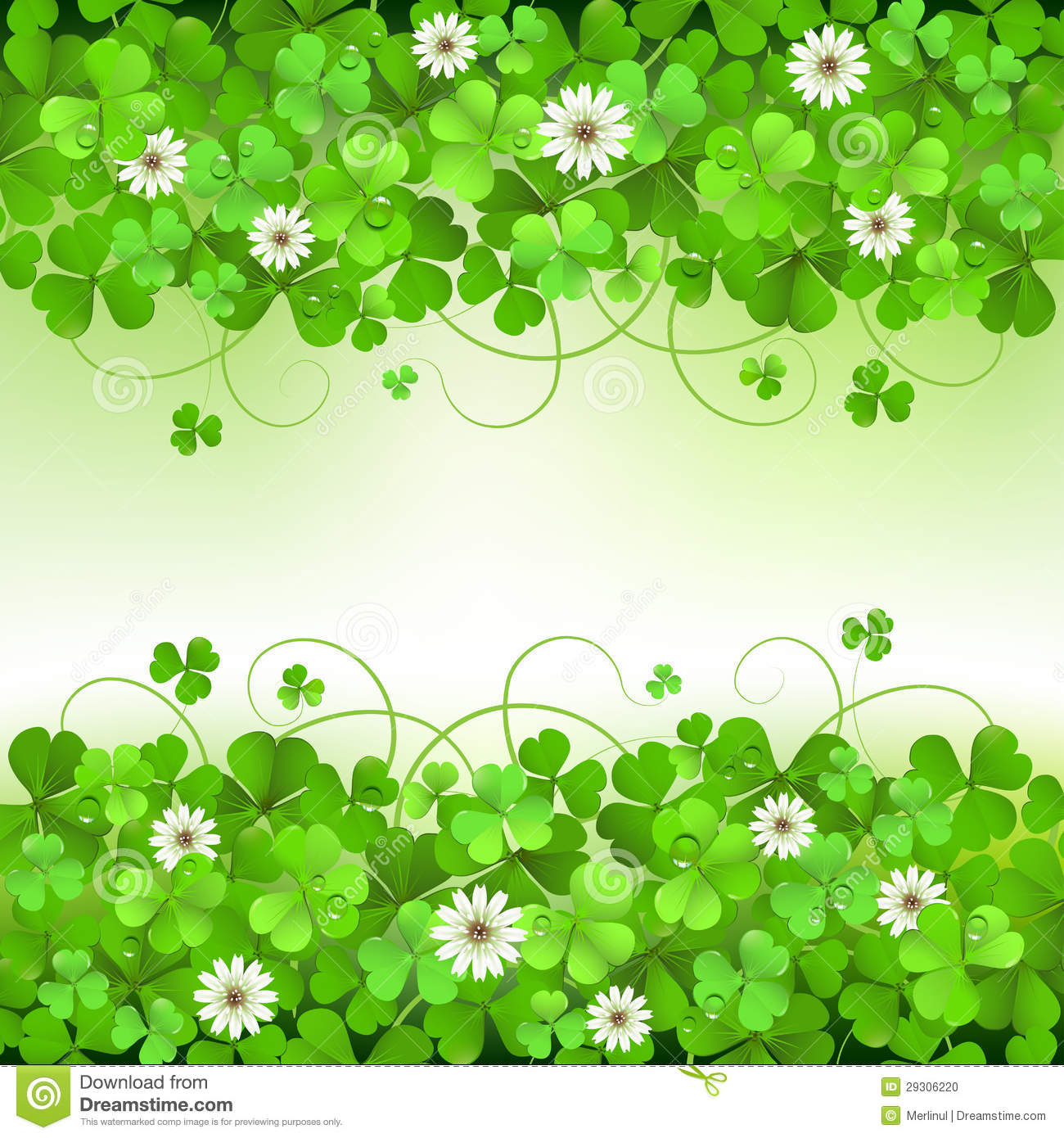 Saint patrick s day background stock photo image 29306220