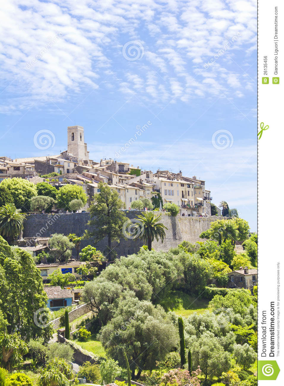 Saint-Paul-de-Vence France  city photos : Saint Paul De Vence, France Royalty Free Stock Image Image: 26135456