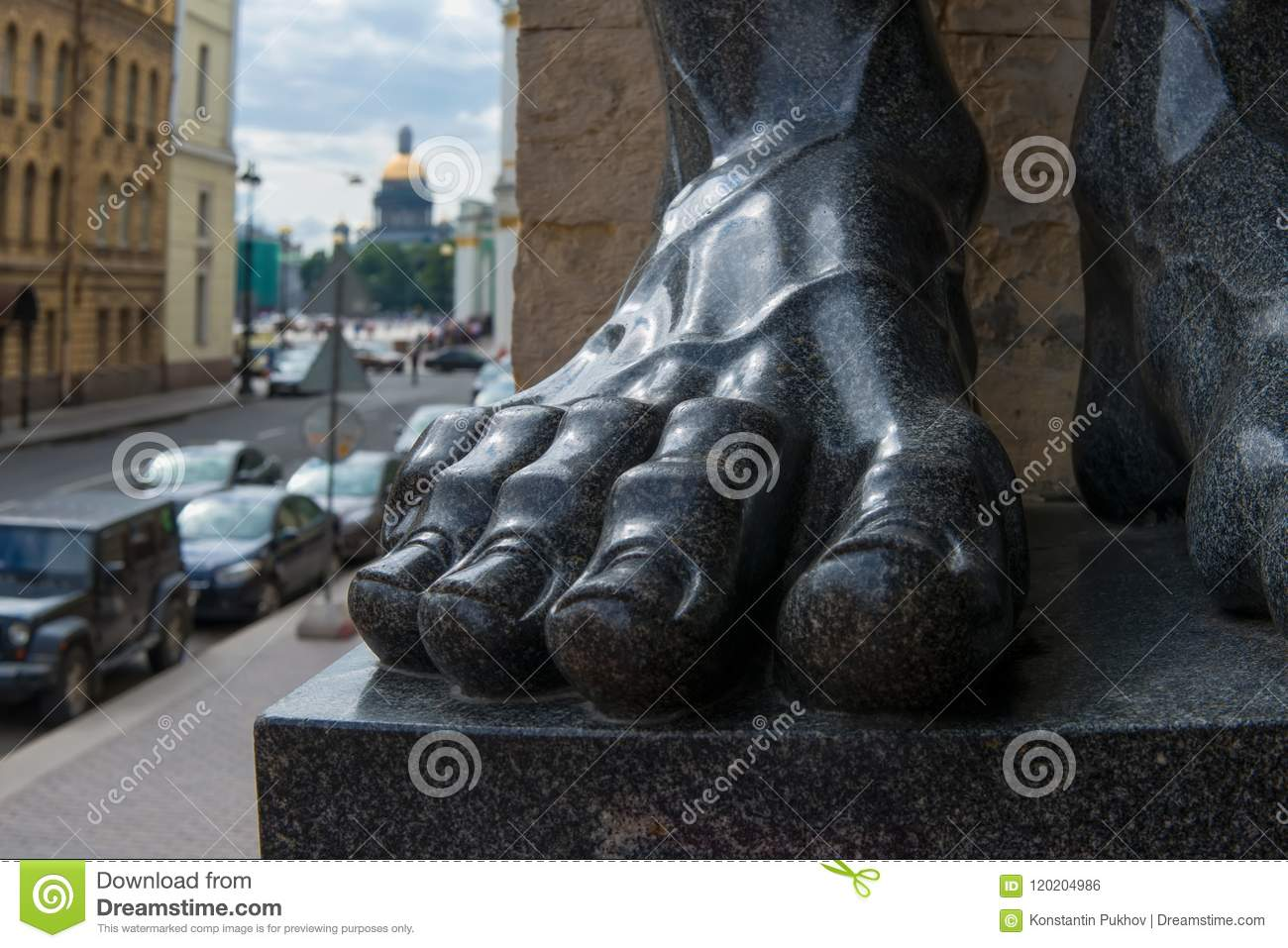 The mighty foot