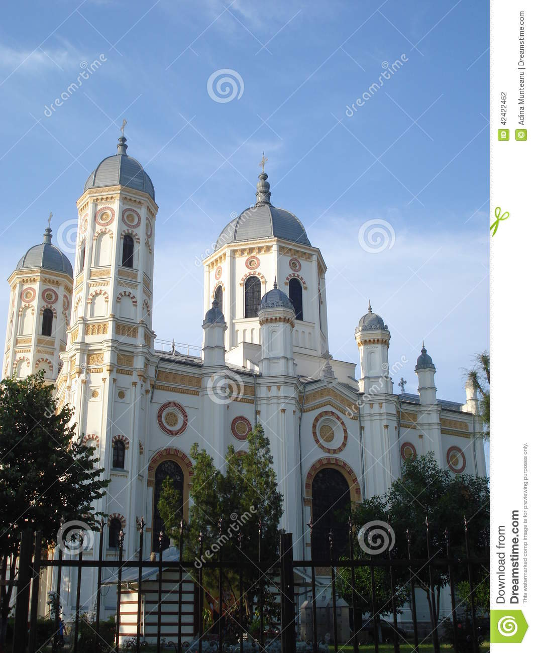 Saint Spyridon Church In Bucharest Stock Photo Image 42422462