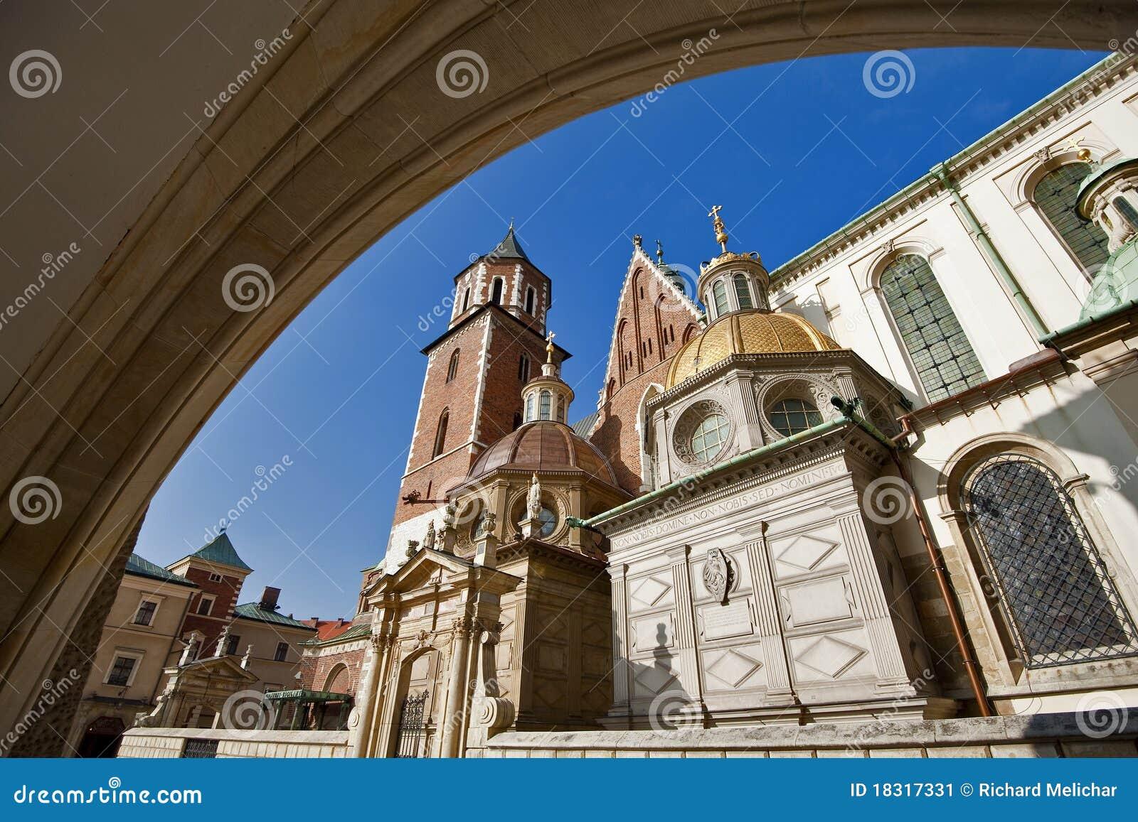 Saint Stanislas Cathedral at Wawel castle, Krakow