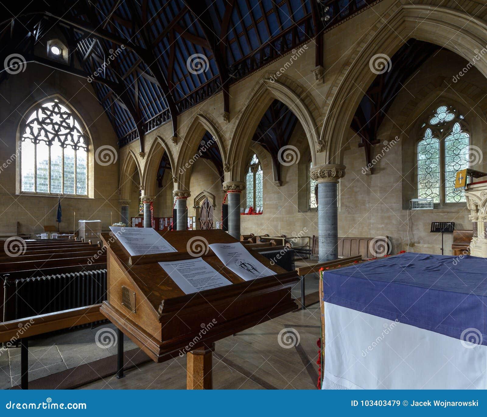 Saint Thomas Church Wooden Lectern