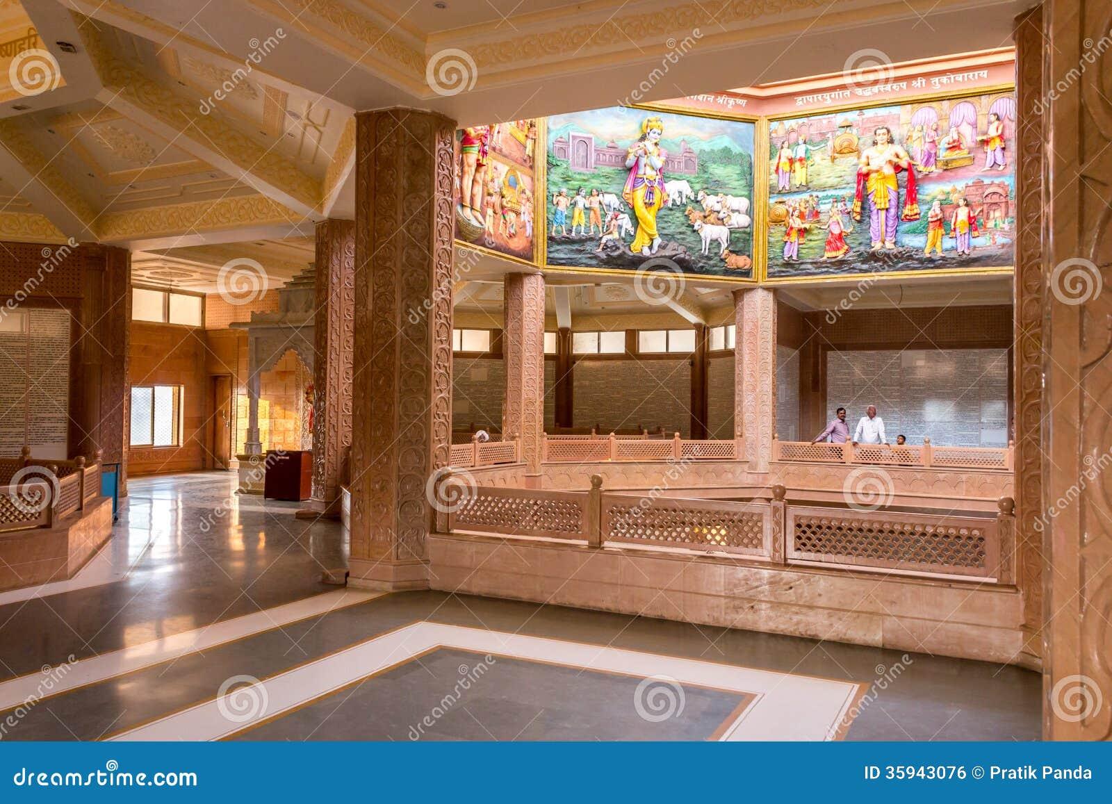 Saint Tukaram Hindu Temple Interior Editorial Photo Image Of Interior Sant 35943076