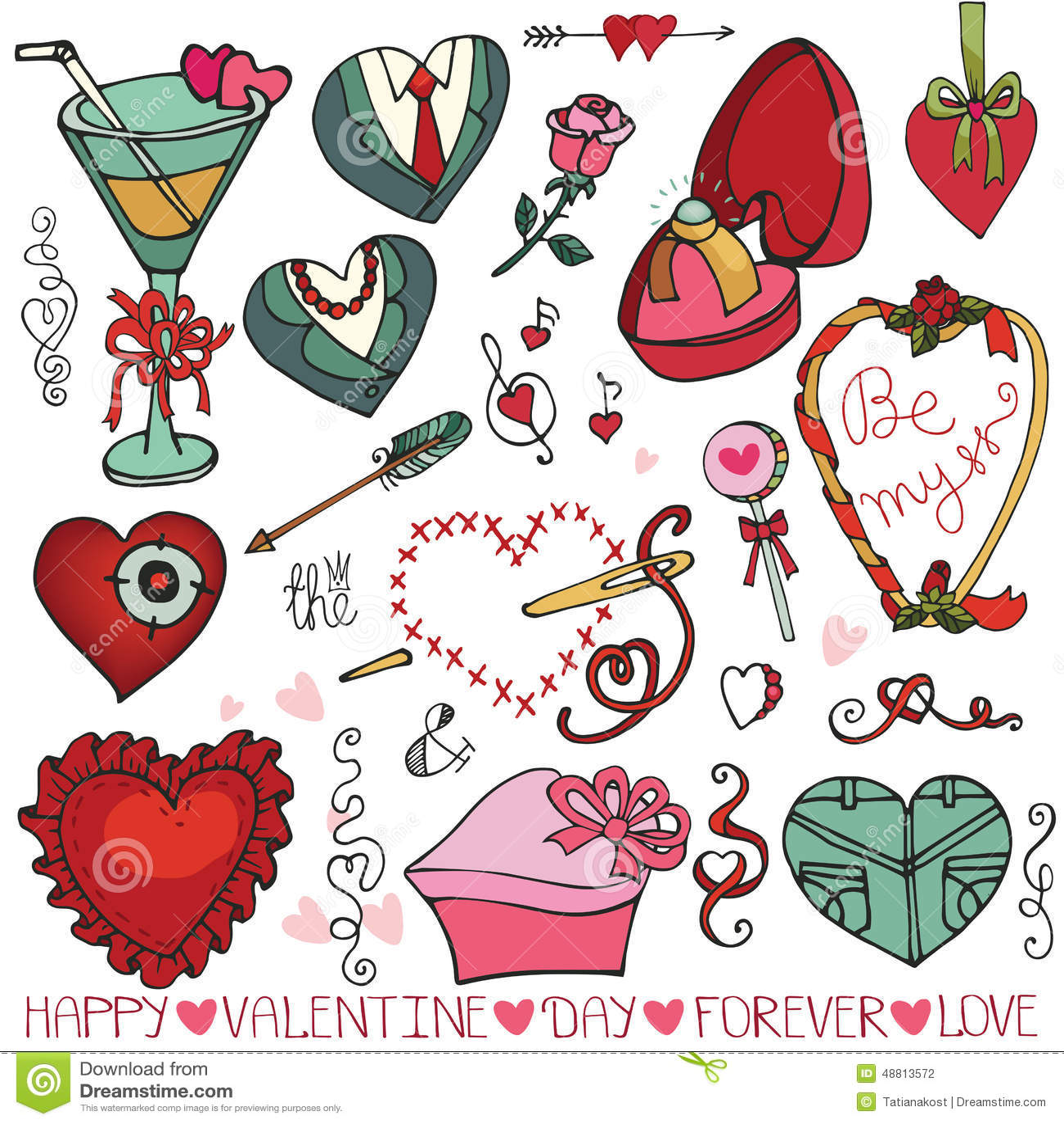 Saint valentin pousant des coeurs cadre l ment de - Cadre photo pour saint valentin ...