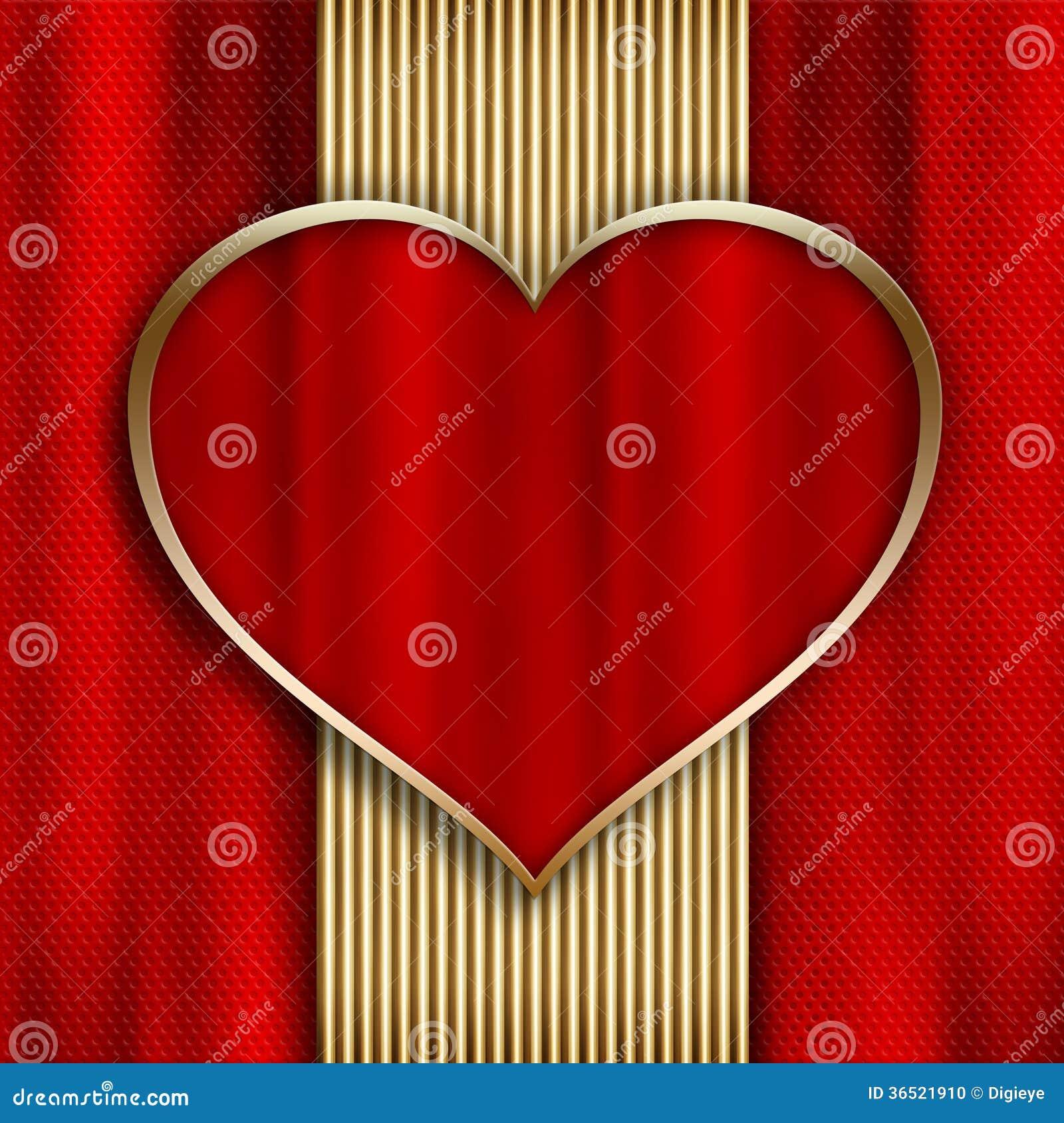 Saint-Valentin heureuse - calibre de carte de voeux