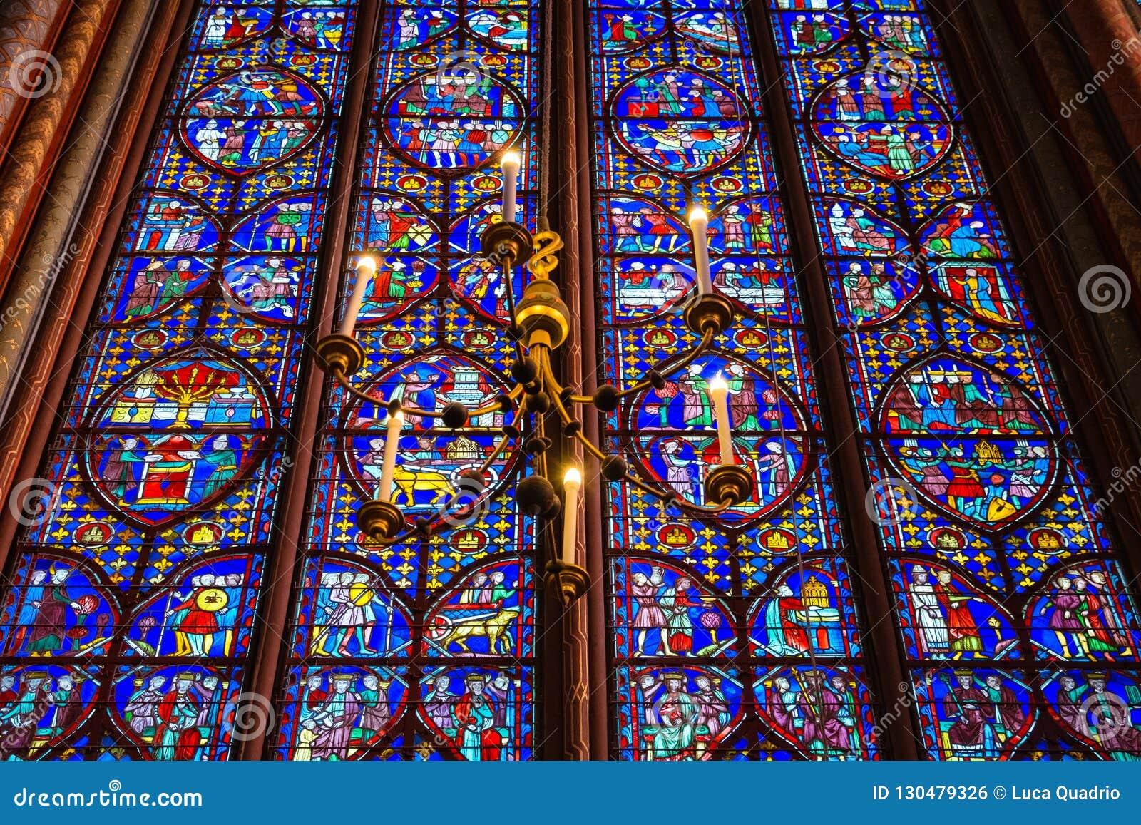 Sainte Chapelle witraż