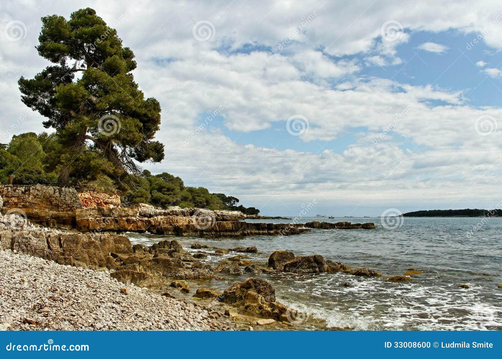 Sainte-Margurite海岸。