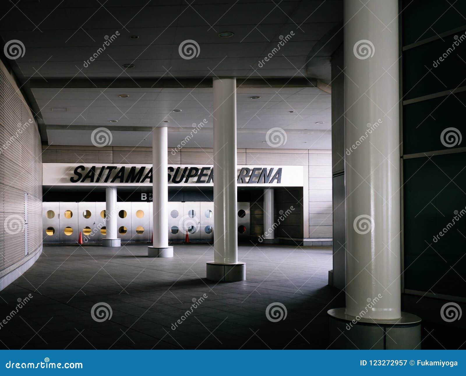 Saitama Super Arena Editorial Photography Image Of Japann