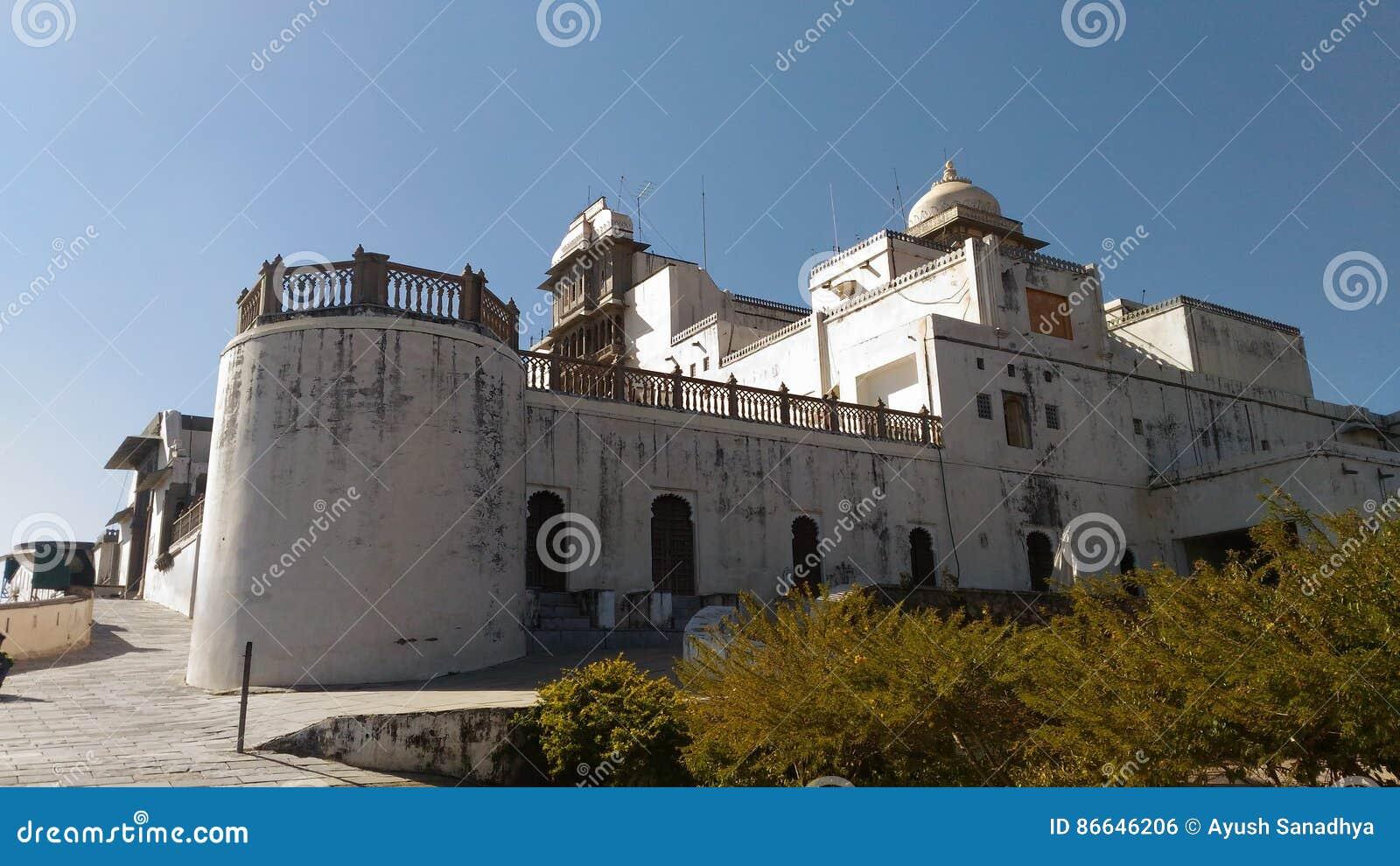 Sajjangarh-Palast-Monsunpalast von udaipur
