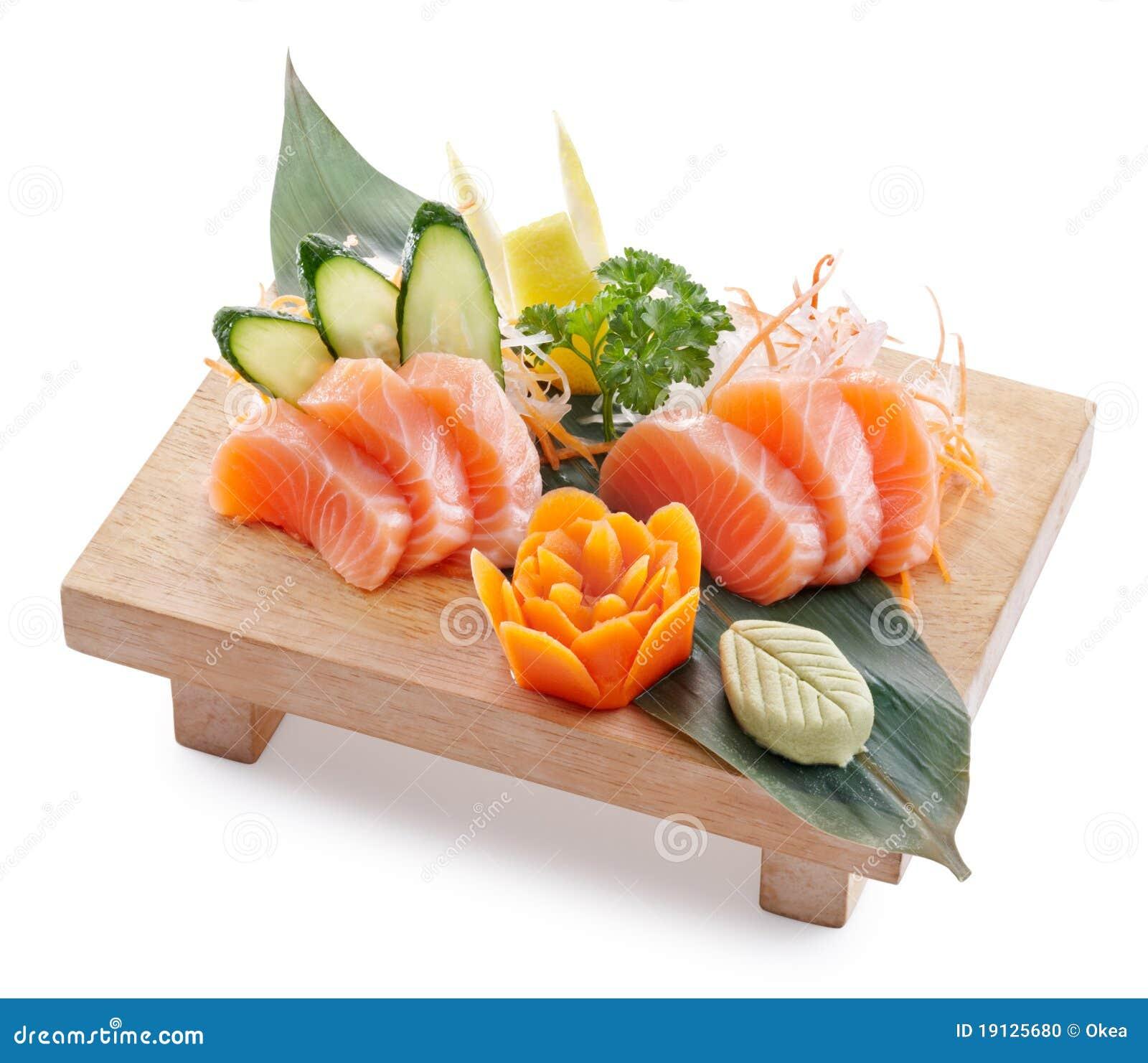 how to choose fresh salmon sashimi