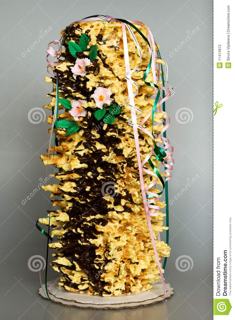 Sakotis Stock Photo Image Of Yellow Cake Flower