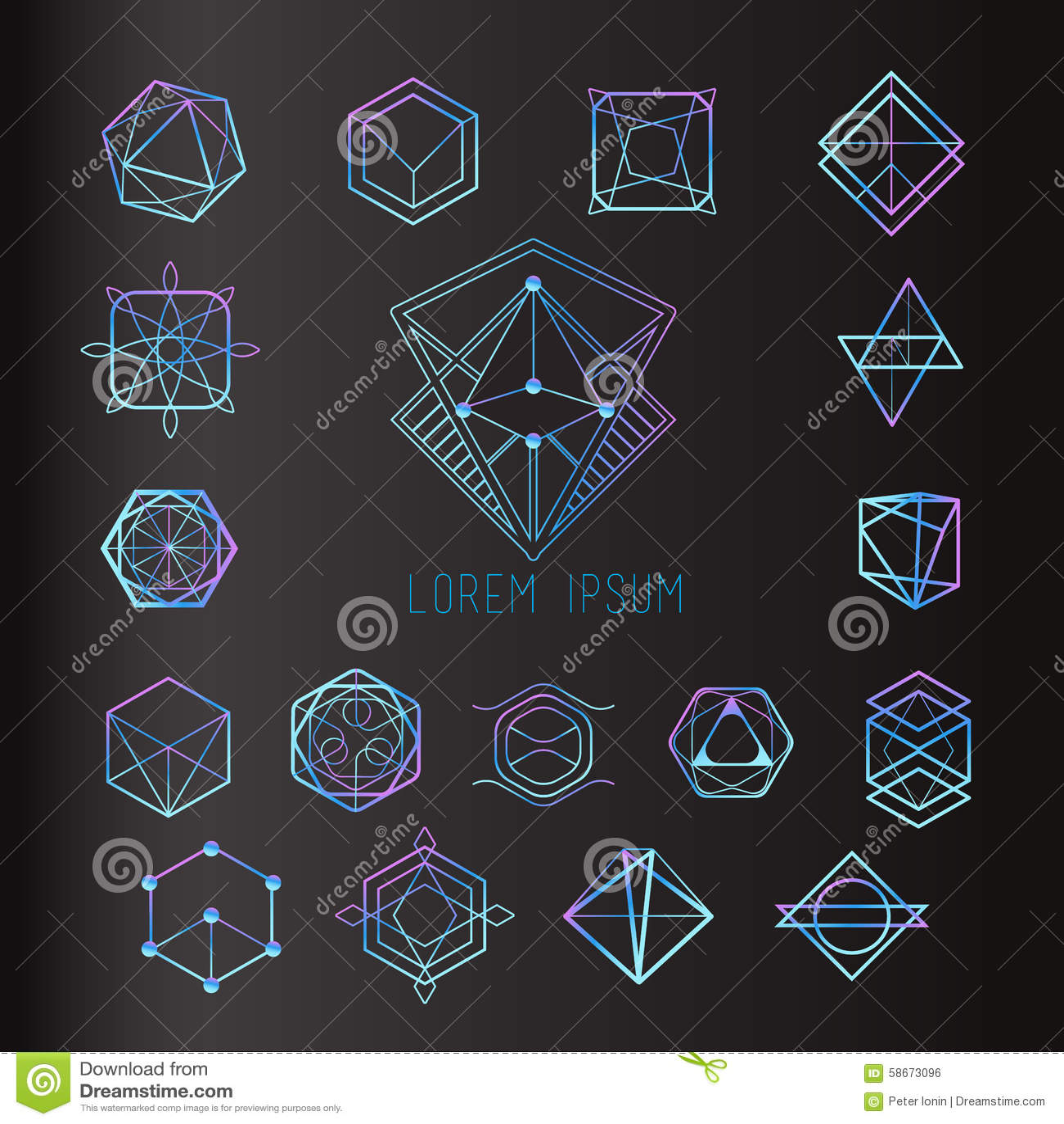 Sakrala geometriformer