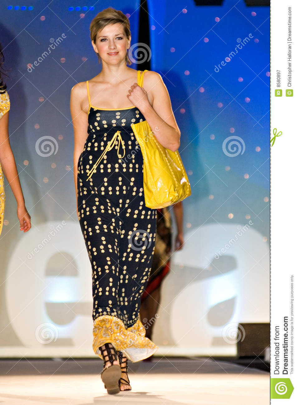 Saks Fifth Avenue Fashion Show Editorial Photography ...