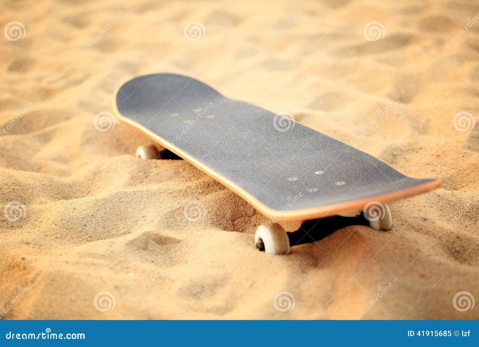 Sakteboard en la playa