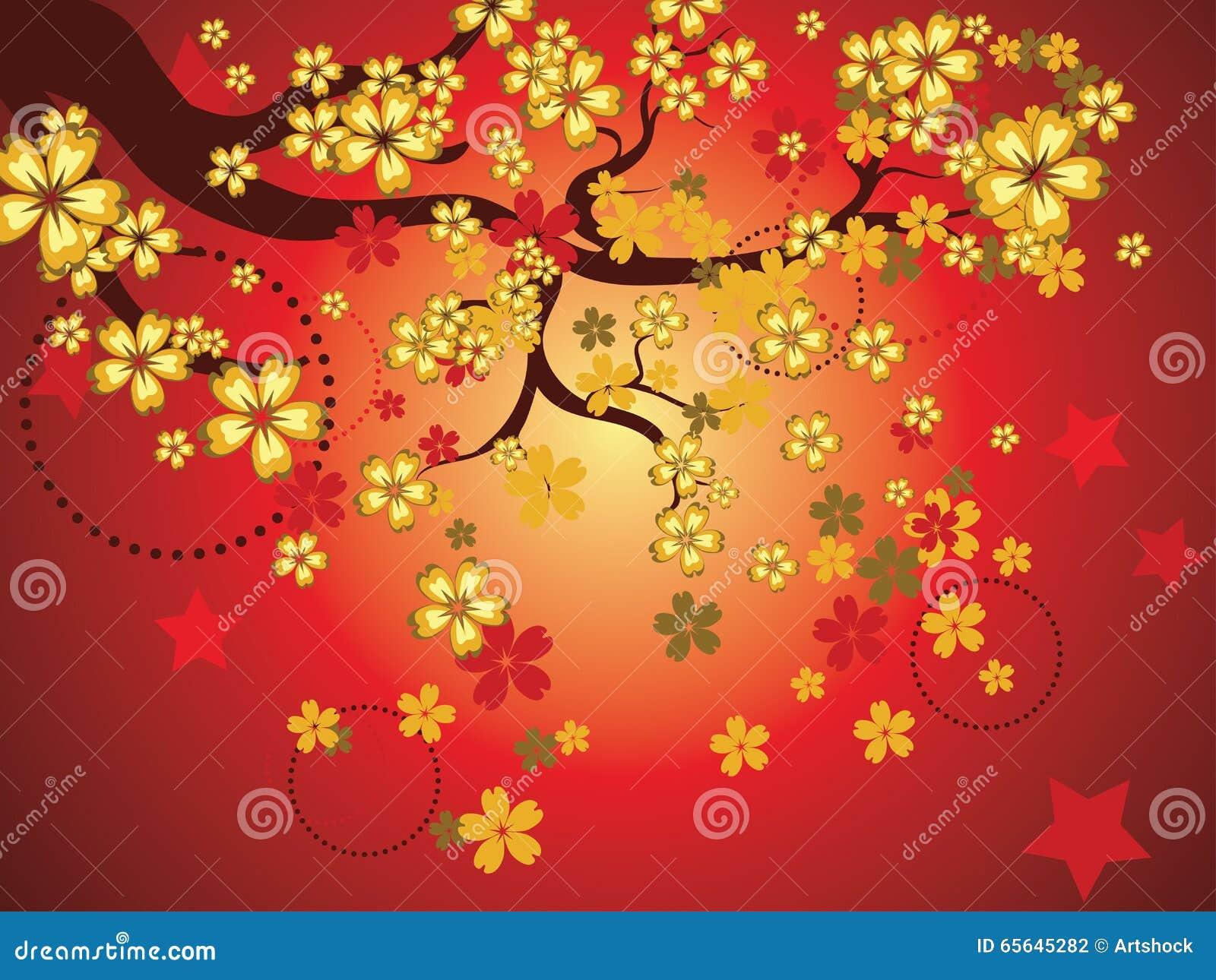 Sakura Background décorative