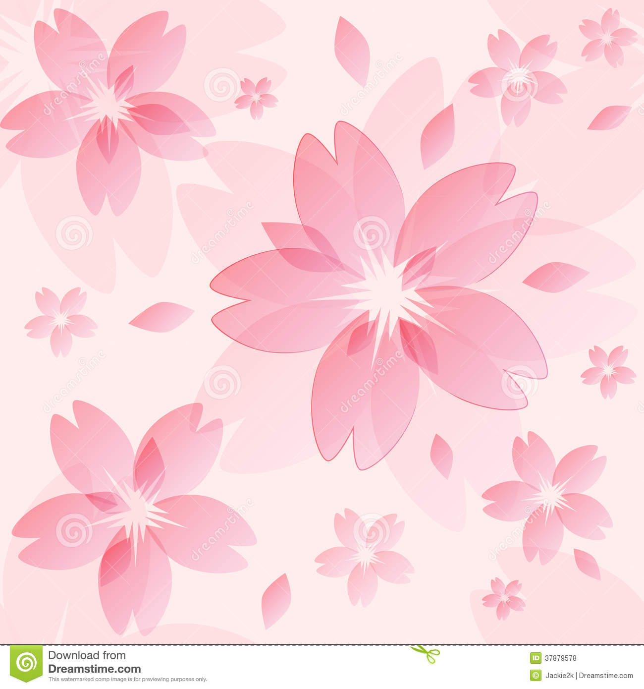 Sakura Blossom Texture Royalty Free Stock Photos - Image: 37879578