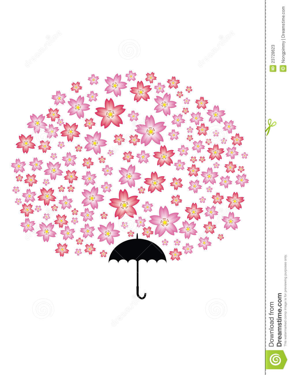 Sakura Umbrella Tree