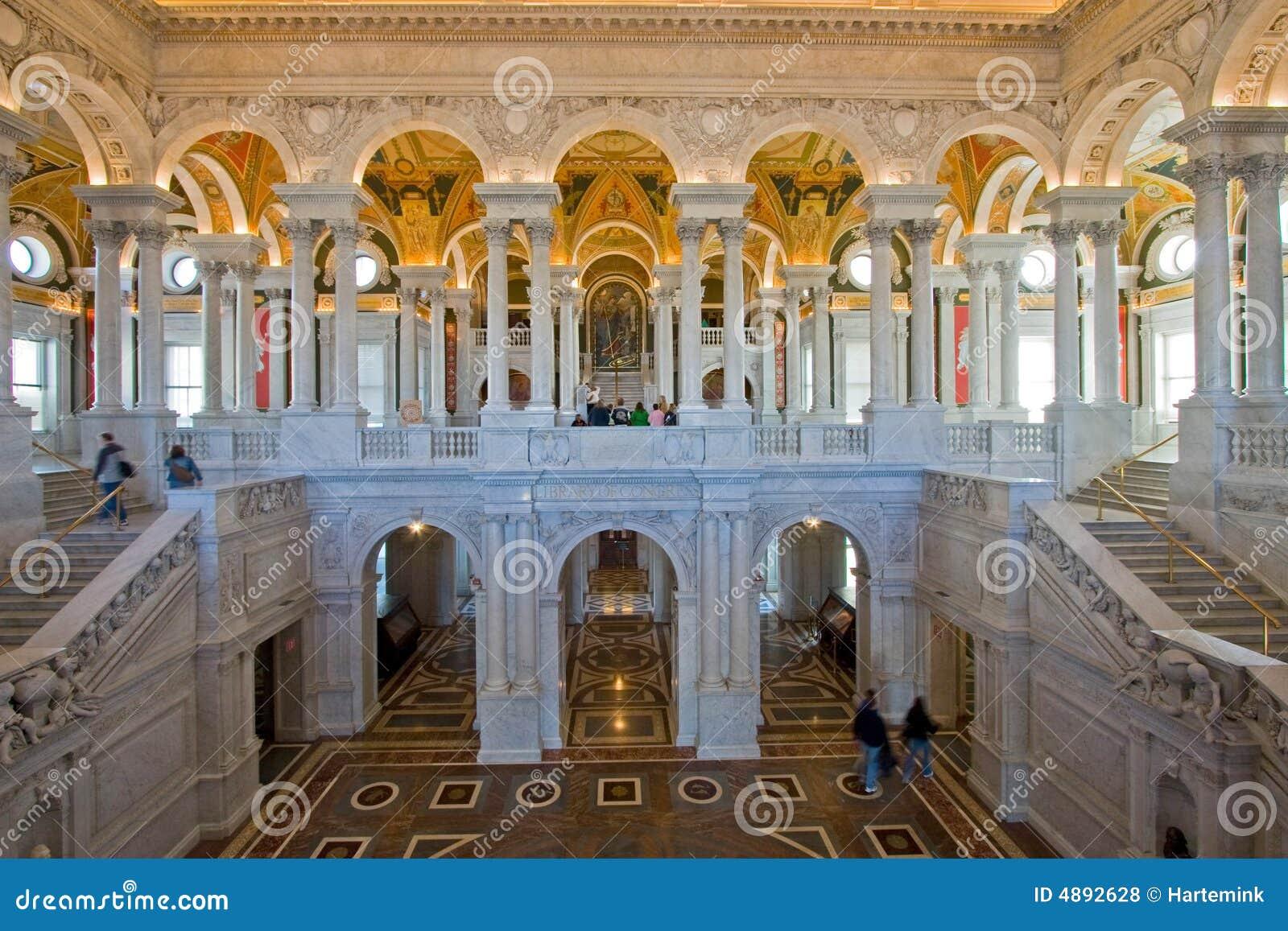 Salão, Biblioteca do Congresso, Washington DC