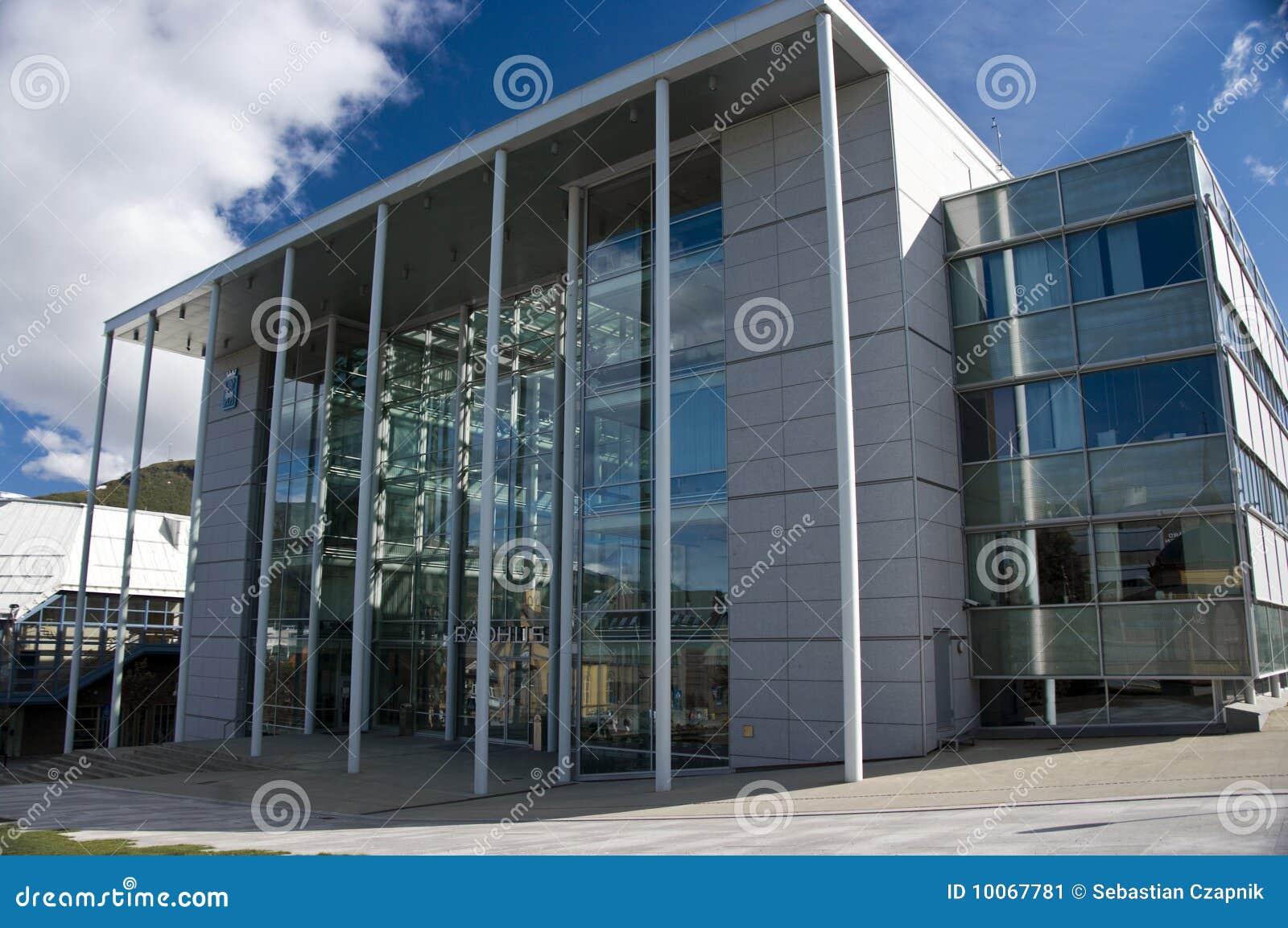 Salão de cidade de Tromso