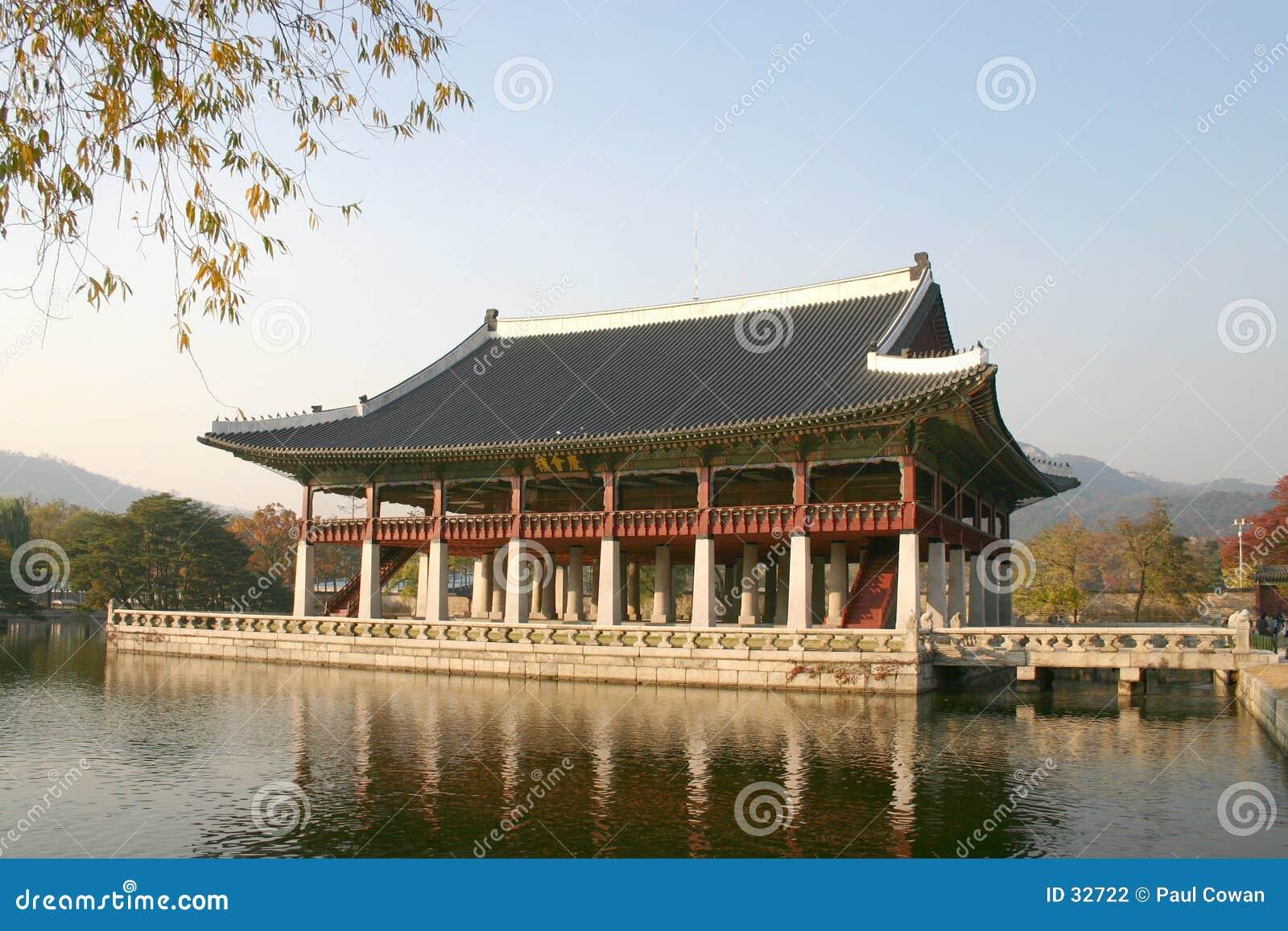 Salão de reunião do palácio de Kyongbok, Coreia