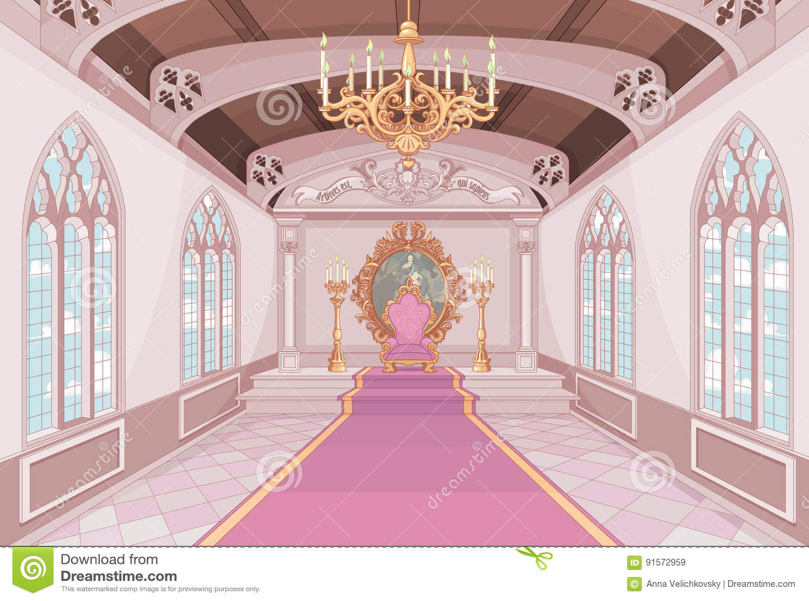 Salão do castelo