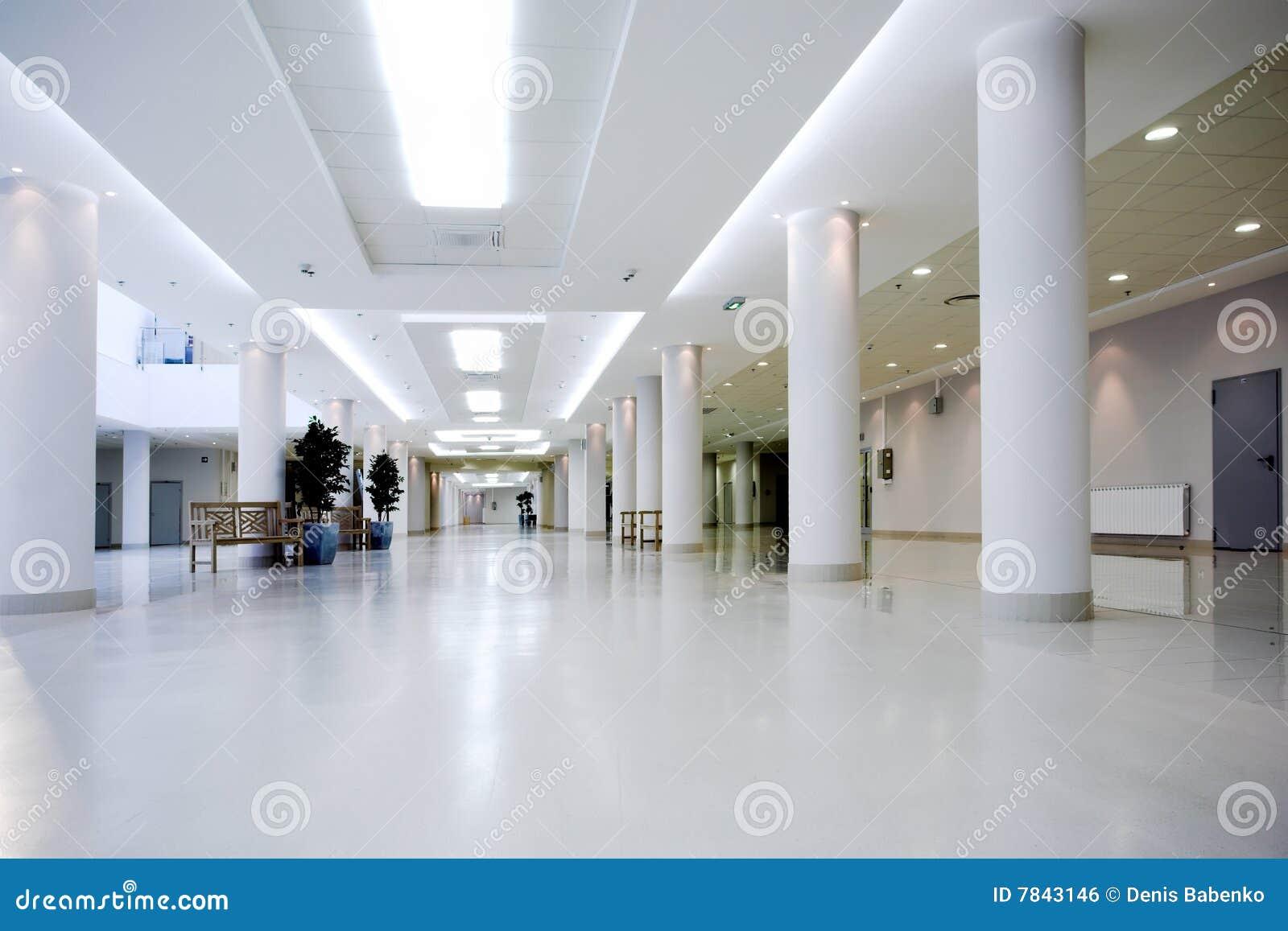 Salão do centro do escritório