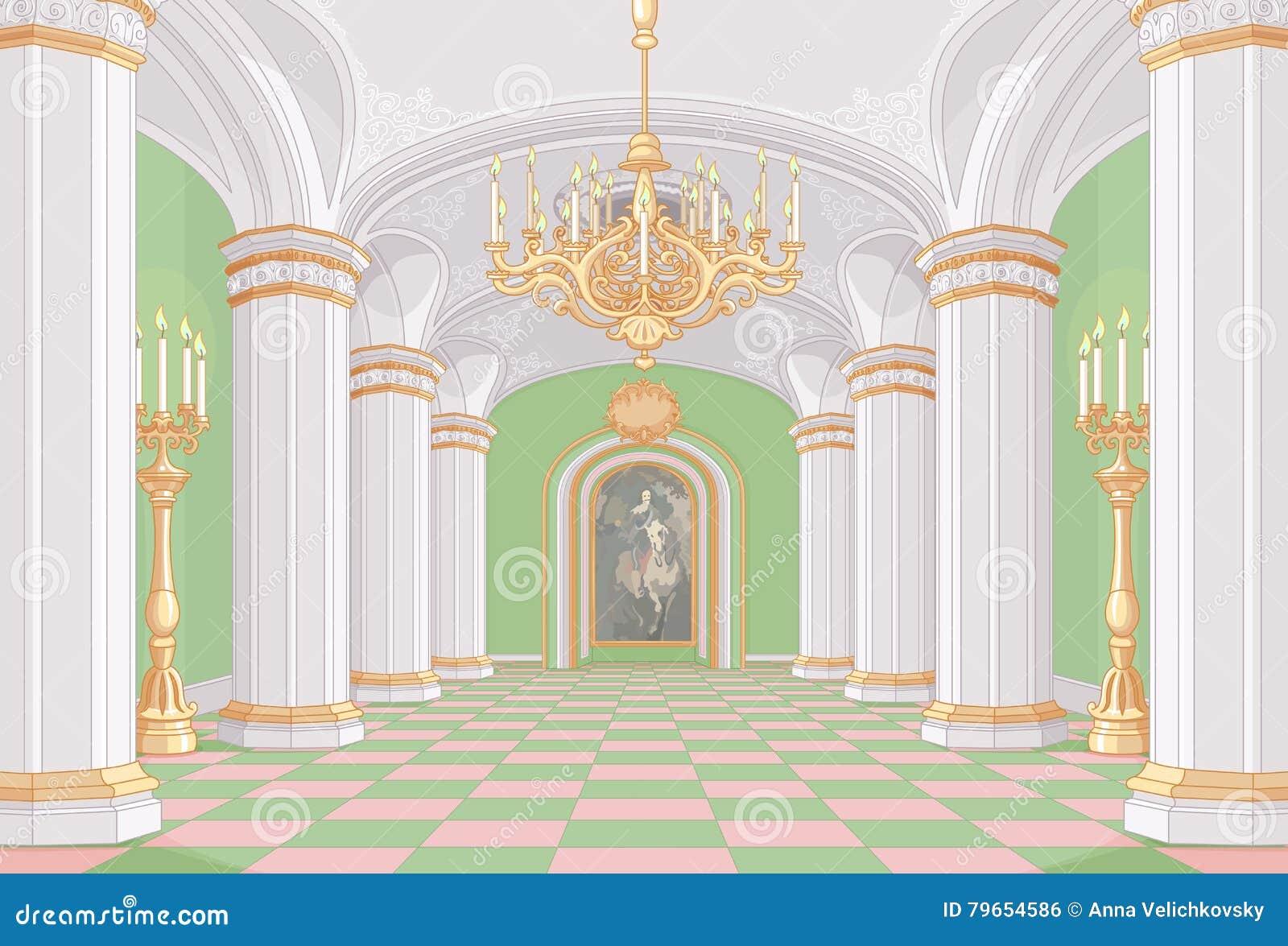 Salão do palácio