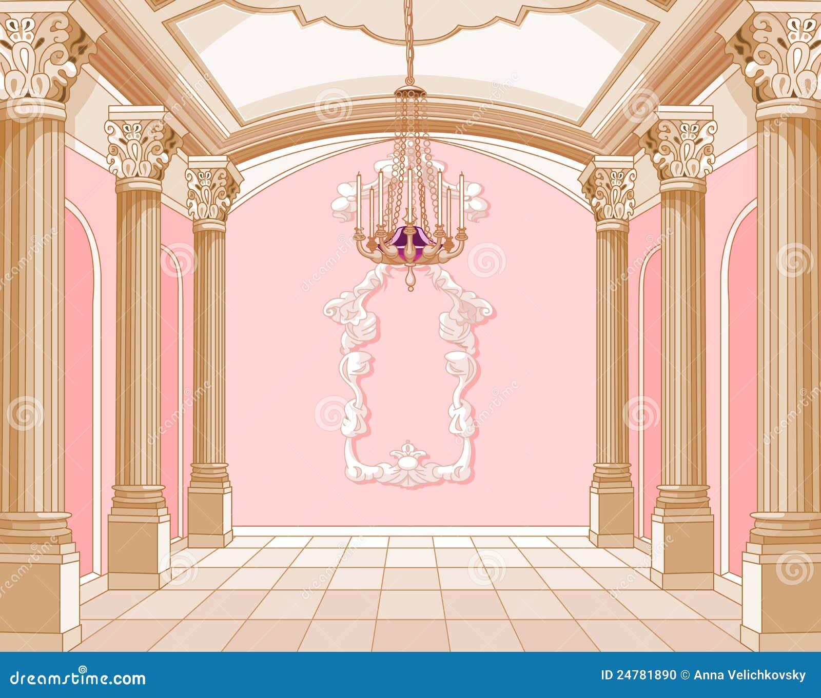 Salón de baile del castillo mágico