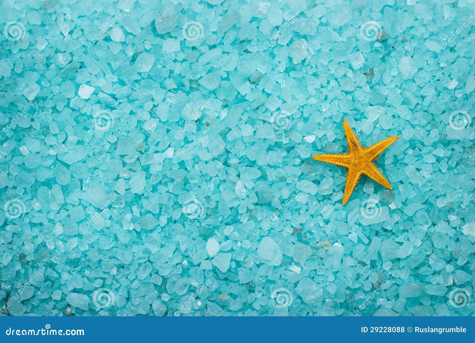 Download Sal De Banho E Fundo Aromáticos Da Estrela Do Mar Foto de Stock - Imagem de saúde, cuidado: 29228088
