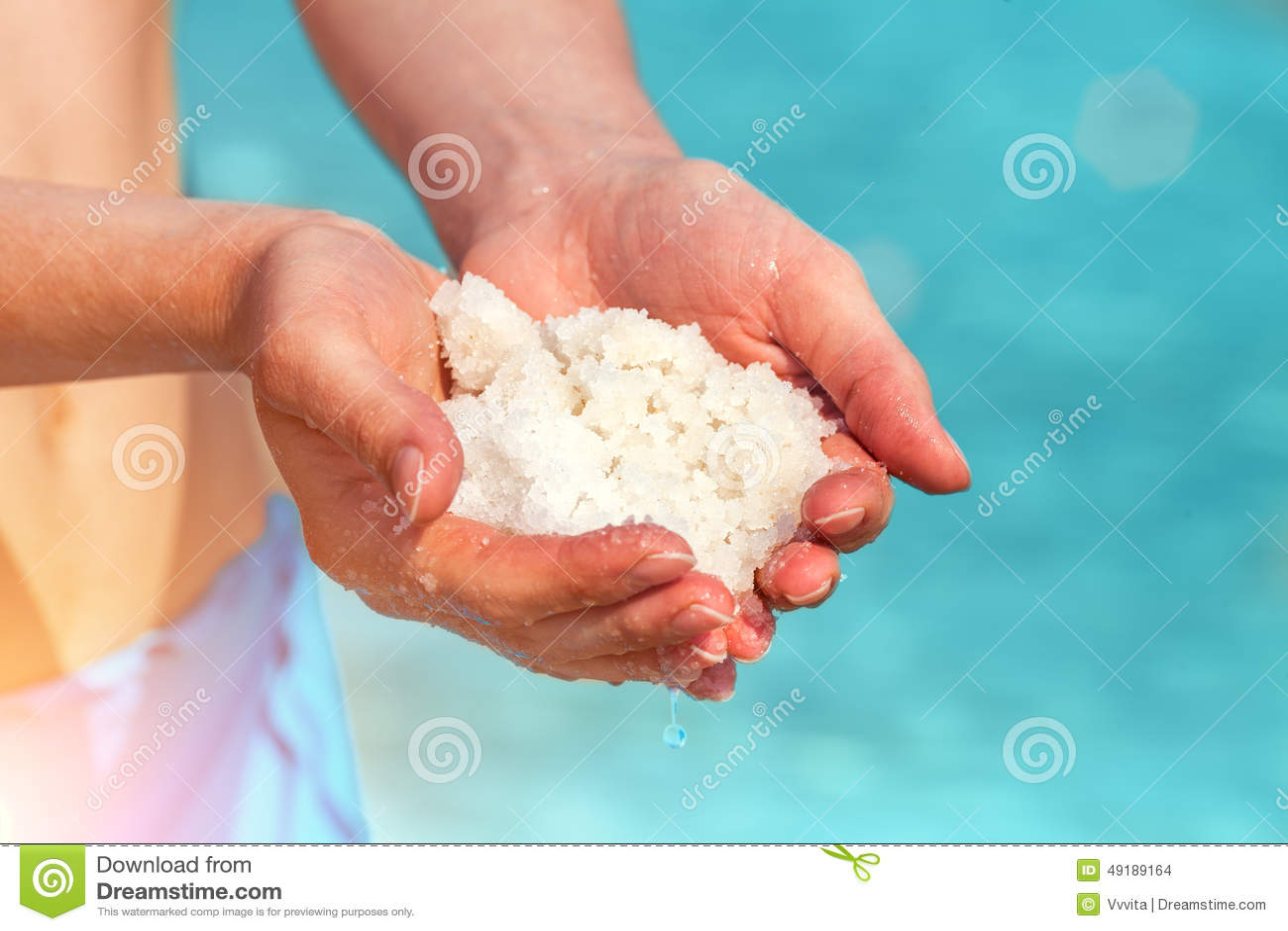Sal del mar muerto